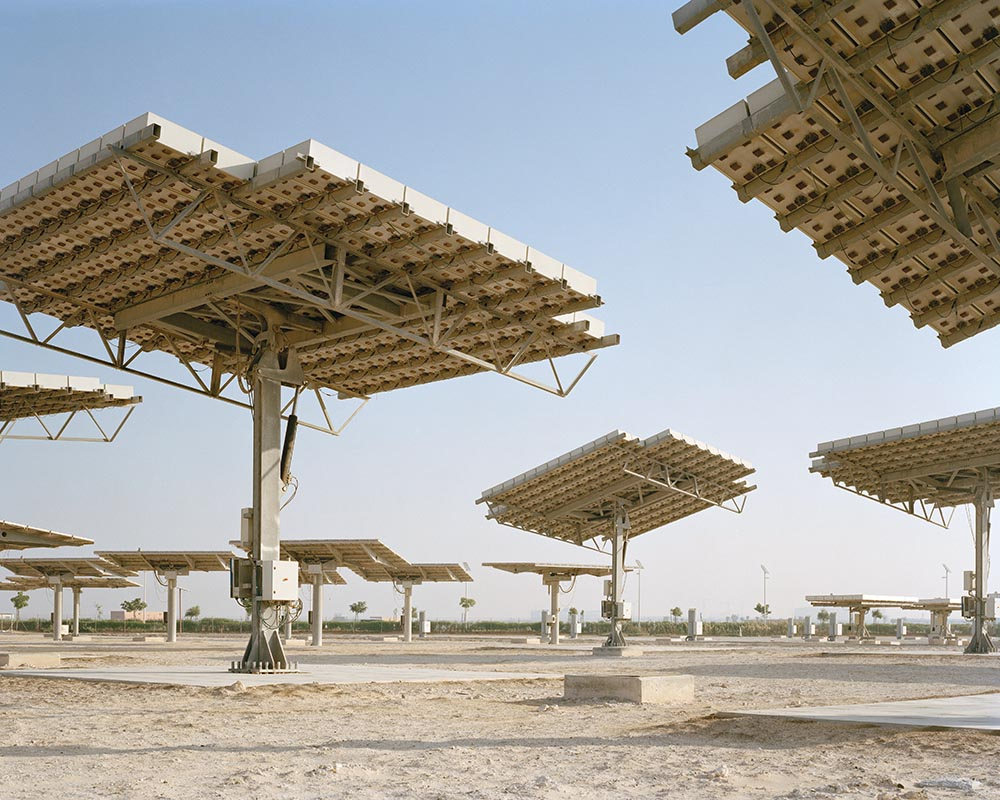 Masdar City, the world's first carbon-neutral zero-waste city, Foster + Partners