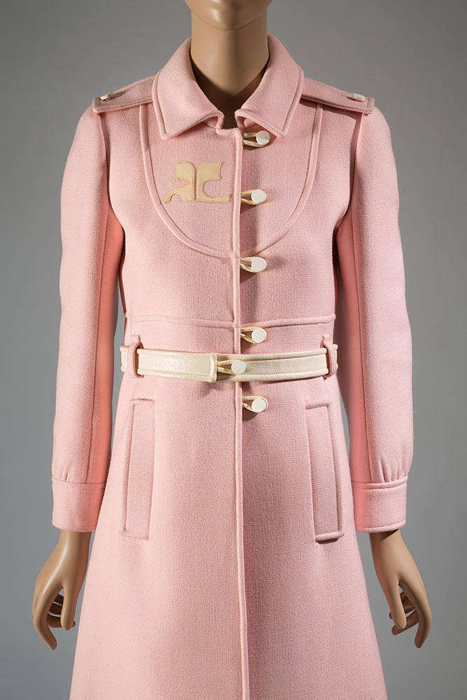 Courrèges, coat, 1967, France, gift of Mrs Phillip Schwartz
