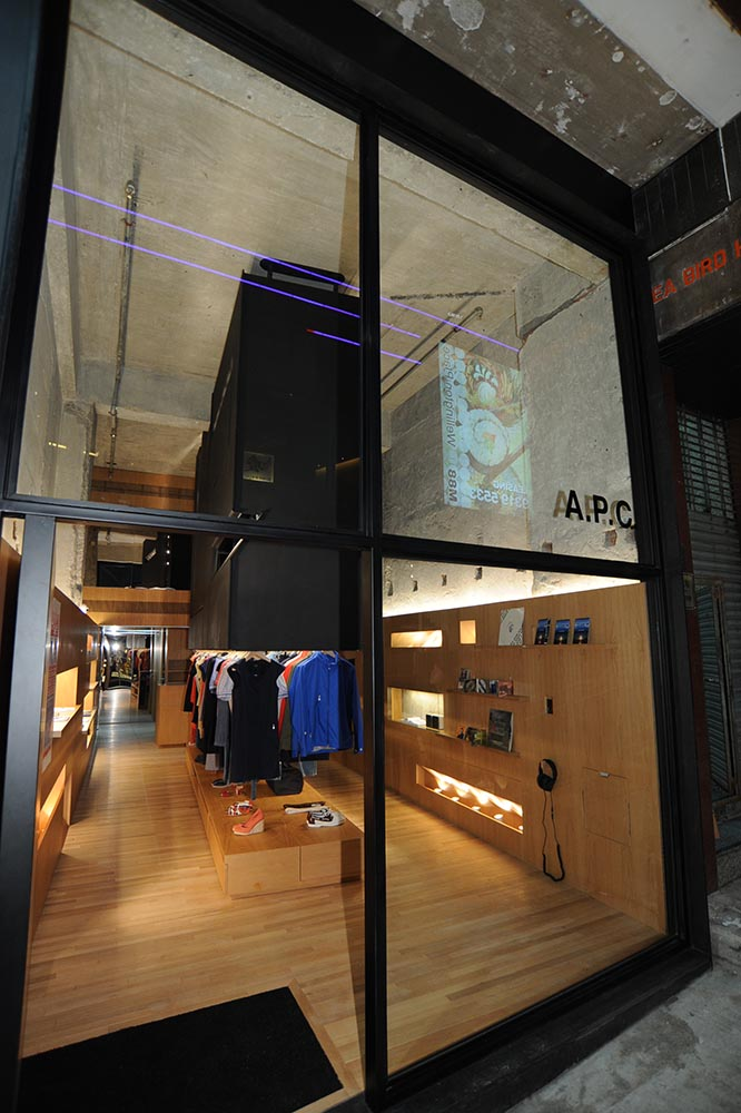 2009: A.P.C Store Opening