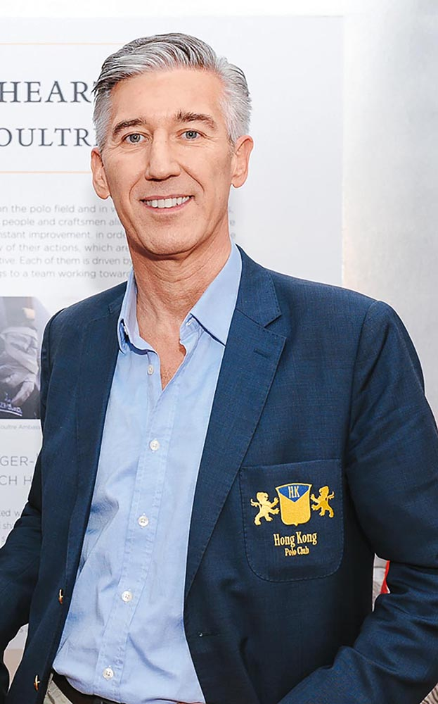 Dave Savage at the Jaeger-LeCoultre mid-season celebration