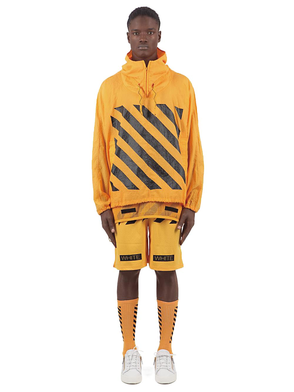 Look from Off-White c/o Virgil Abloh, spring/summer 2014
