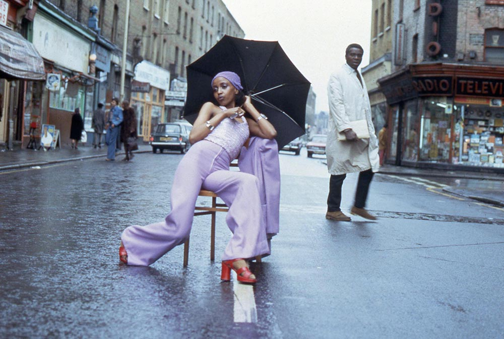 Armet Francis,  Fashion Shoot Brixton Market  (1973)