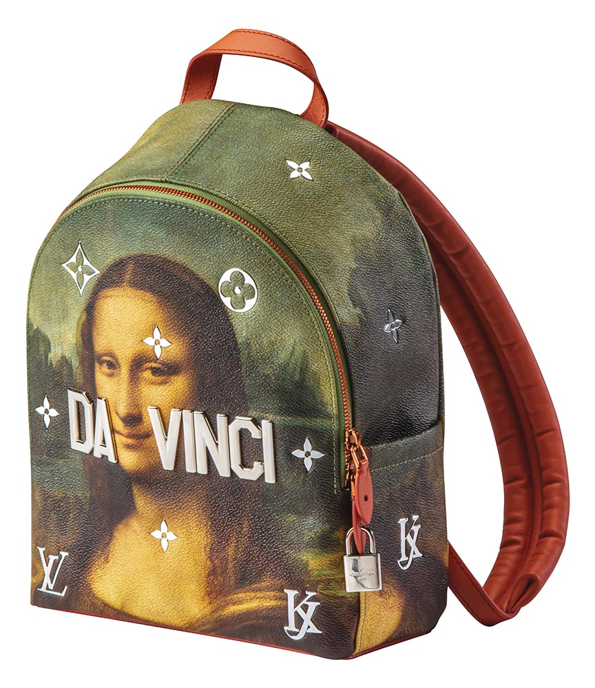 Jeff Koons x Louis Vuitton backpack, 2017