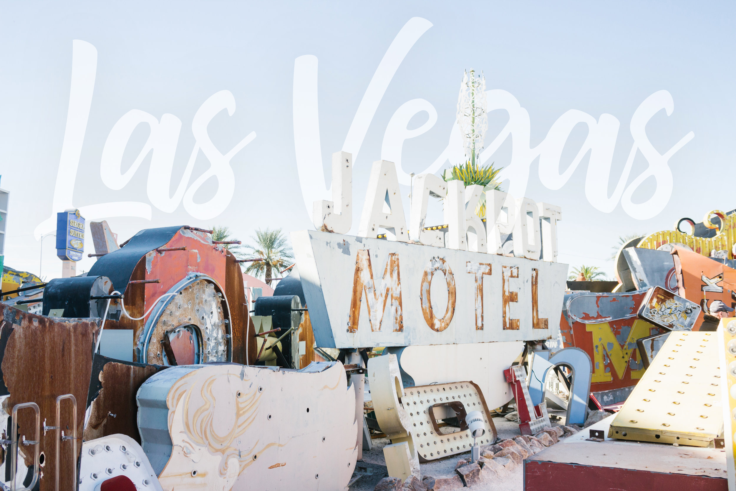 November 2017. Las Vegas, Nevada. The Neon Museum.