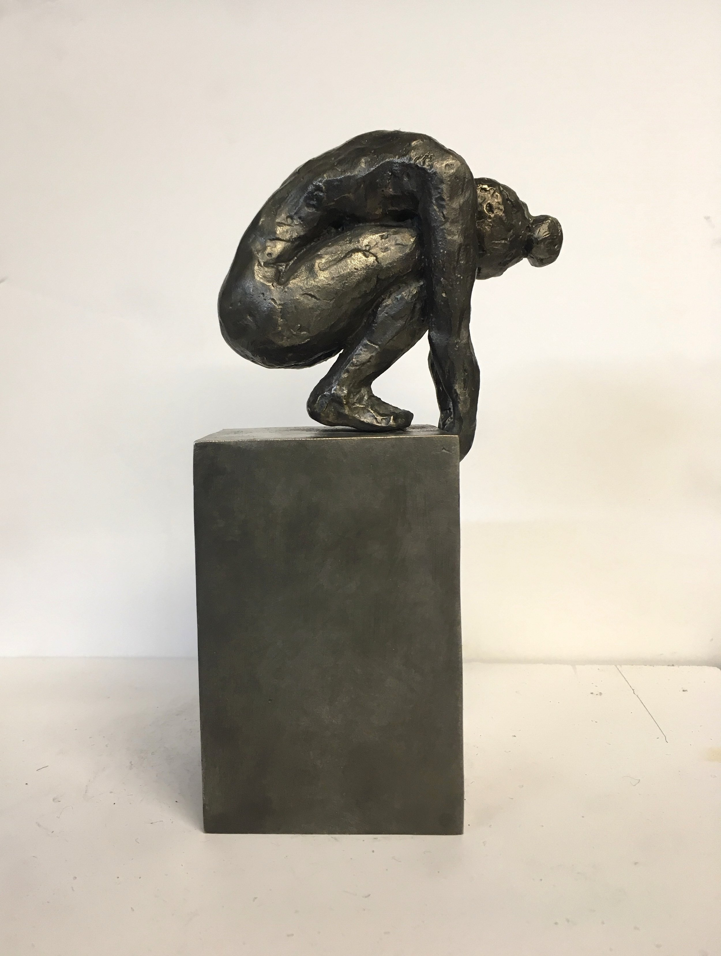 "Fiddlehead, 7.5x4x2.5"", Bronze, 2018 (Edition of 6)"