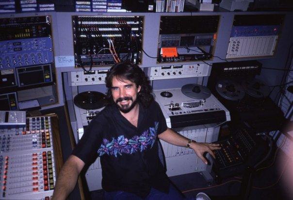 Big boy studios at Y-95 Dallas, 1988.