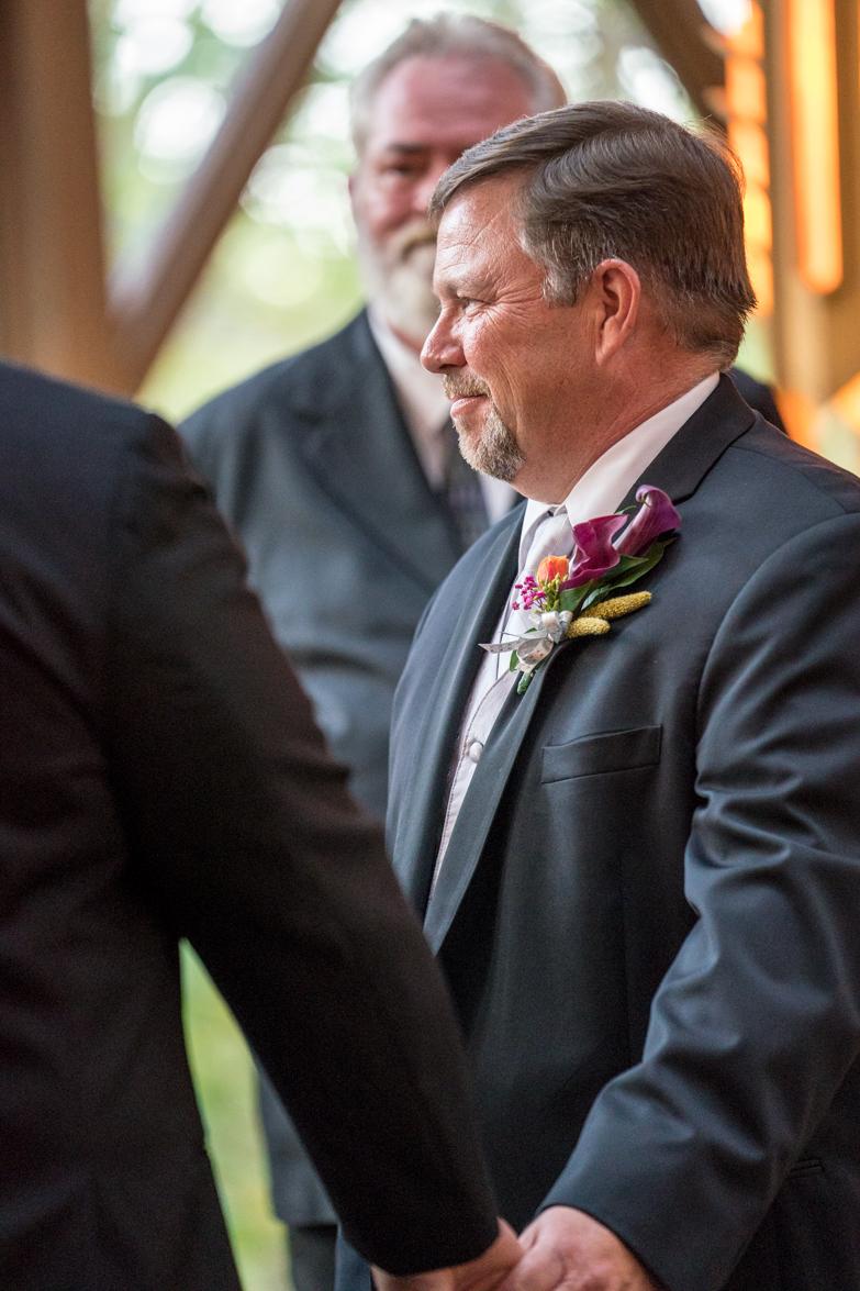 Steve repeats his vows