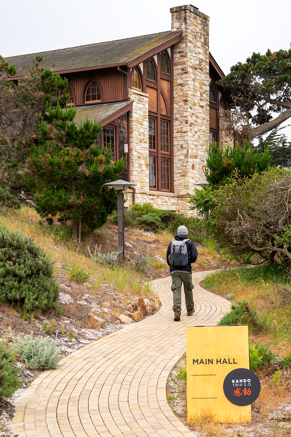 Asilomar was a great location for the event. This is the path to the main hall where there were instructors, vendors, and most importantly, free gear loaners from Sony!