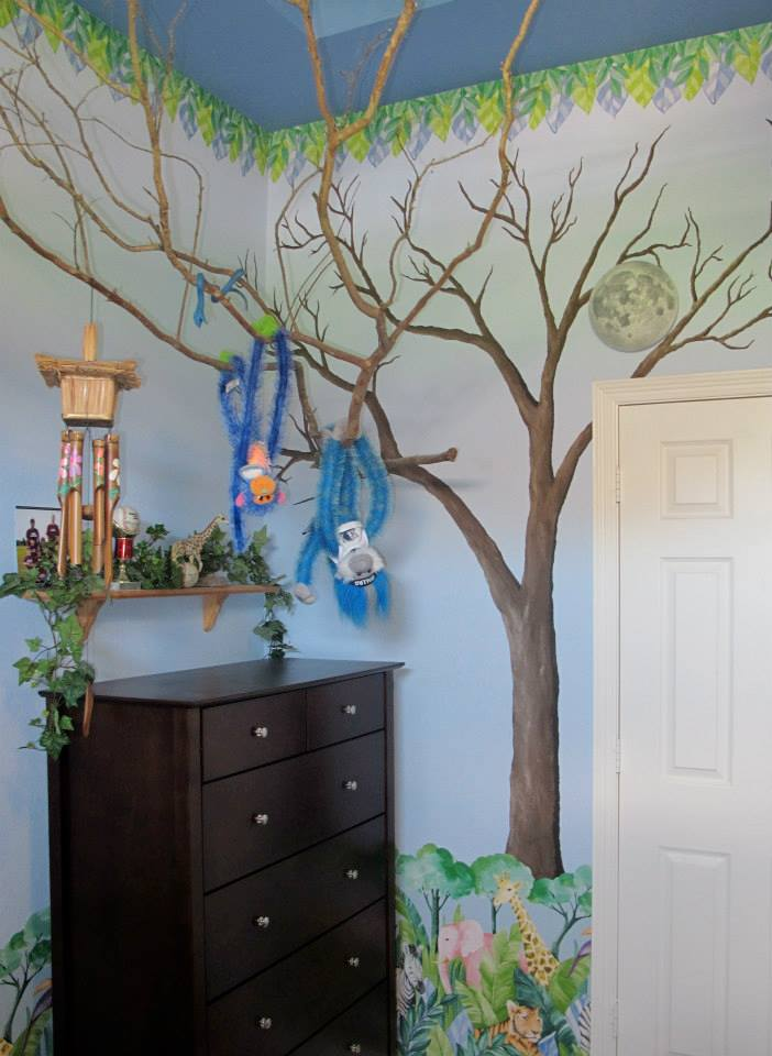 Kid's Room Tree Mural