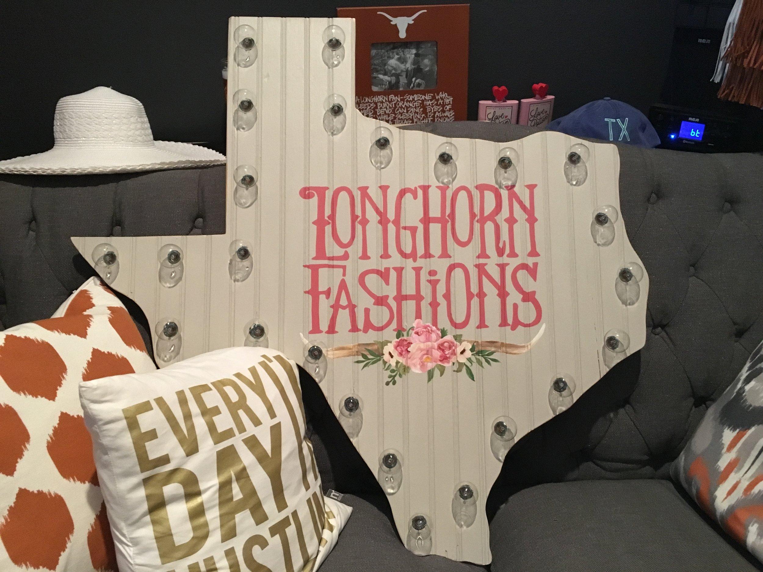 Longhorn Fashions New Logo