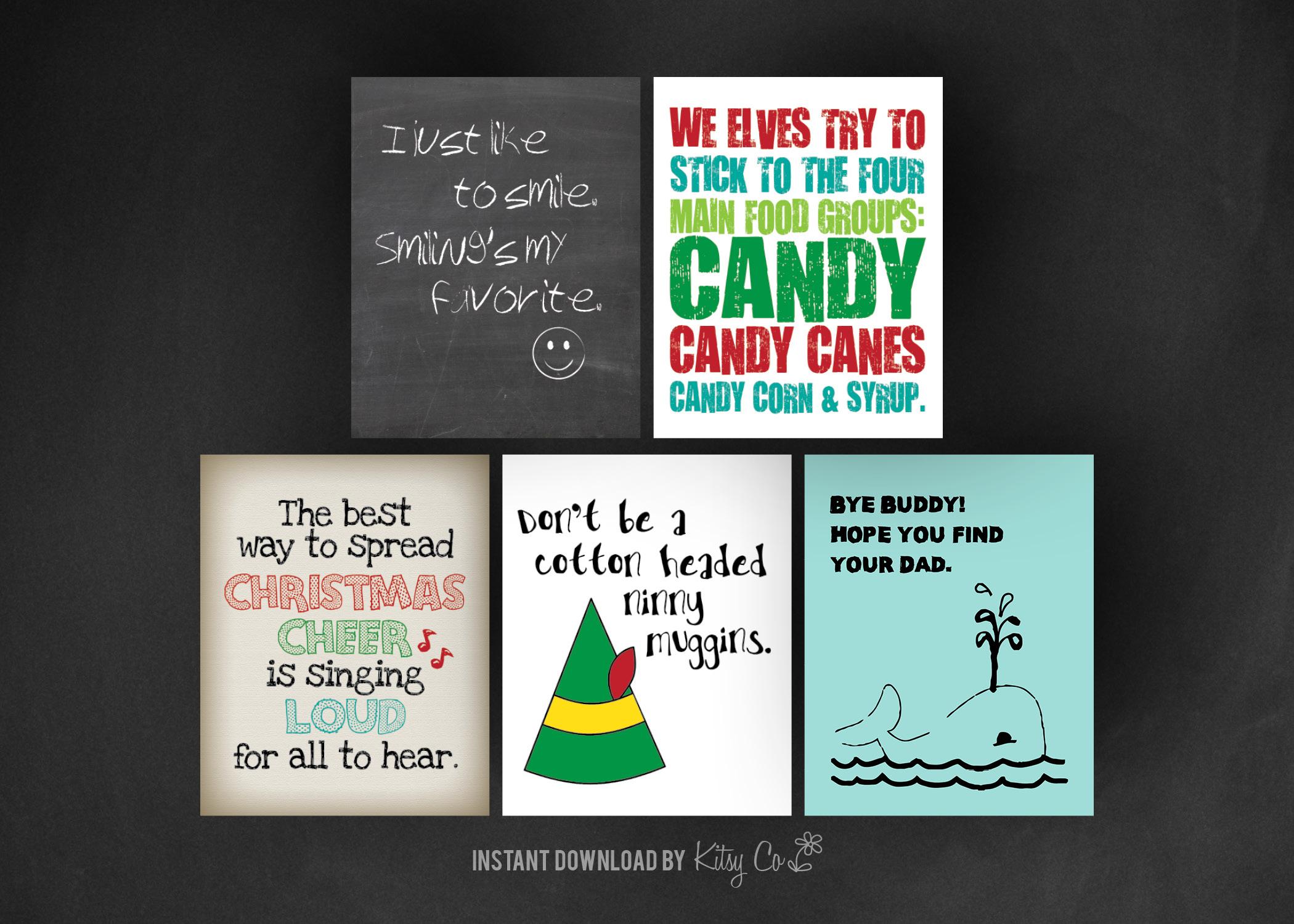 Christmas Art Print Set 2