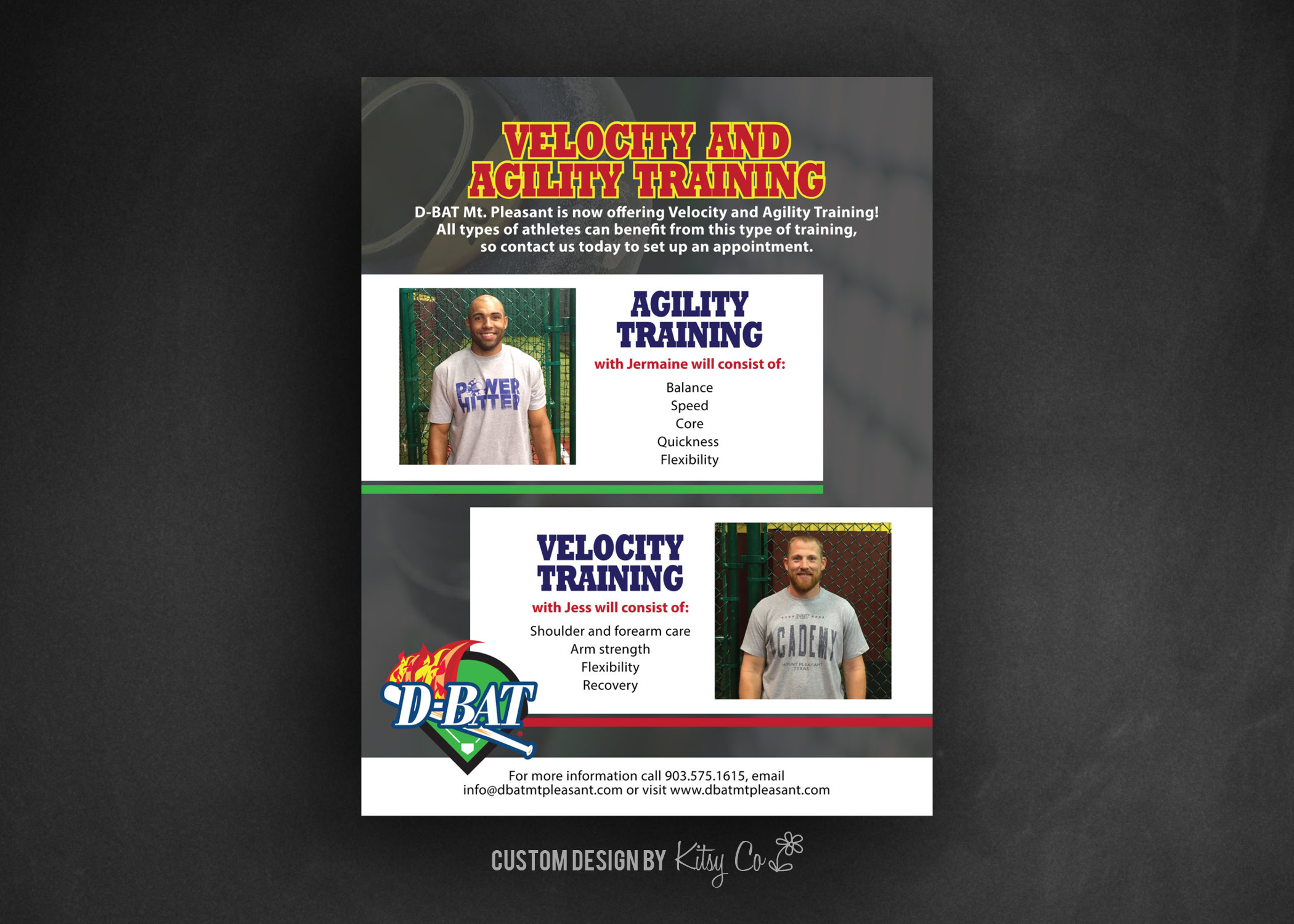 Velocity and Agility Training