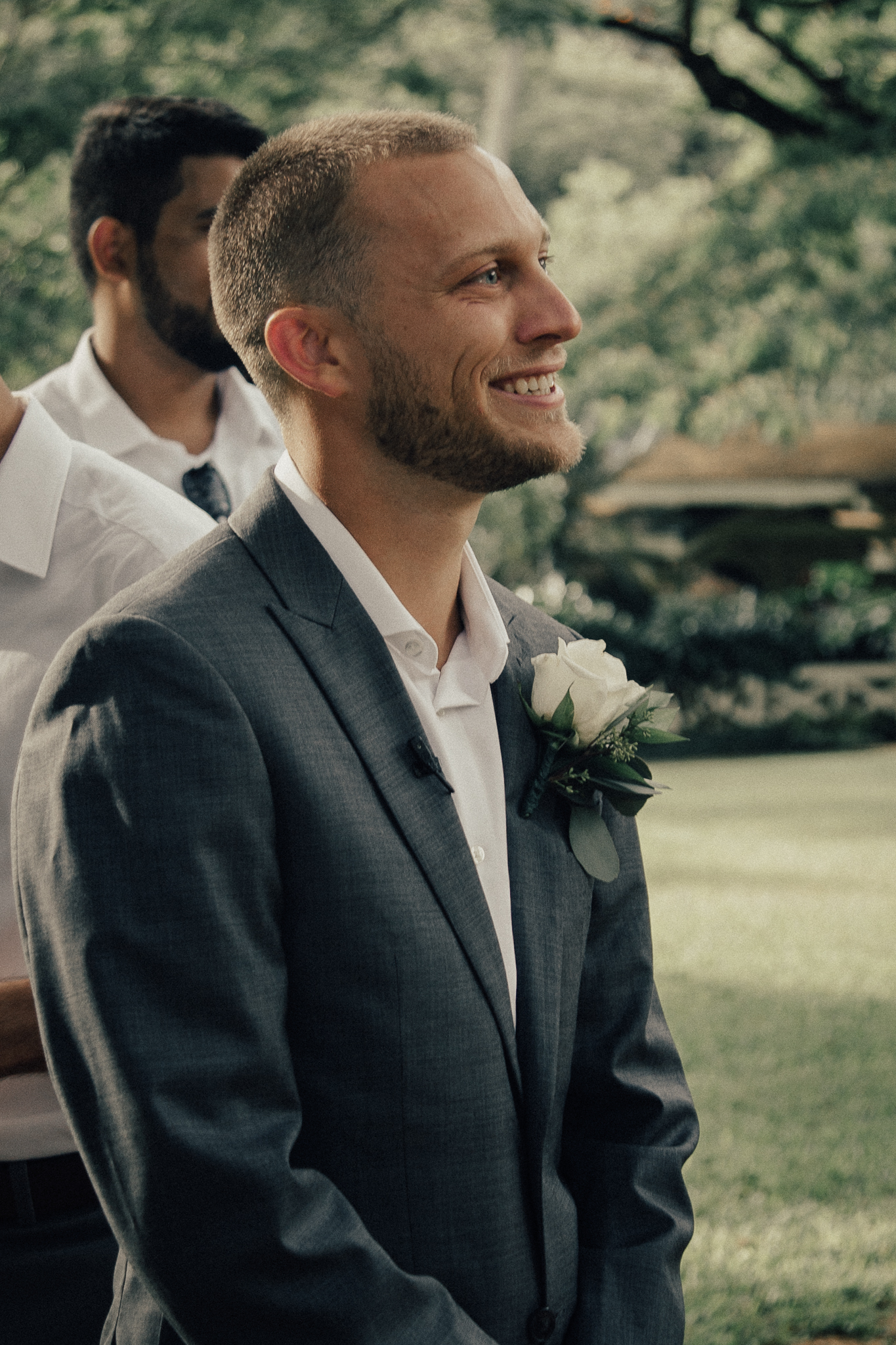 Groom's Reaction