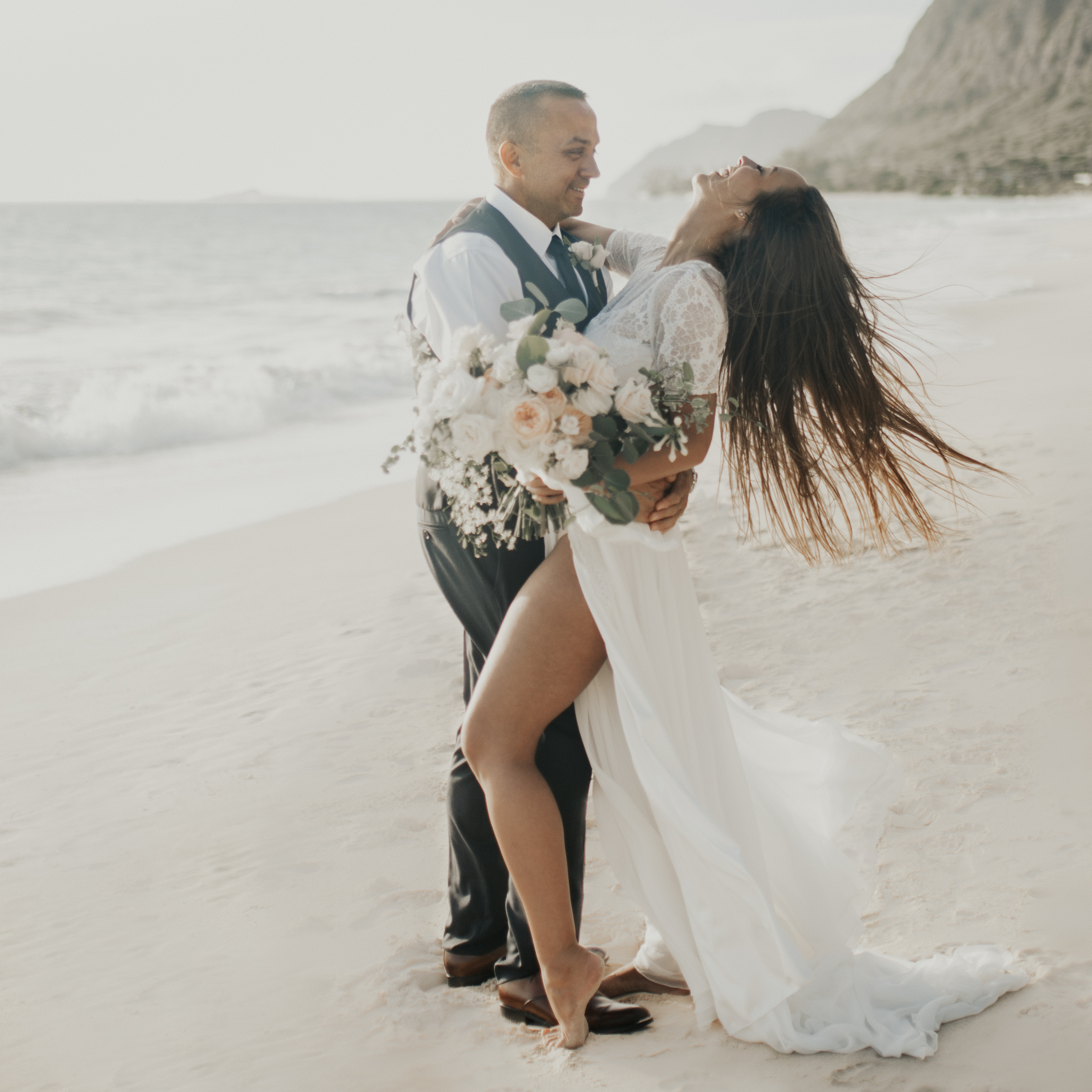 Waimanalo Beach Wedding