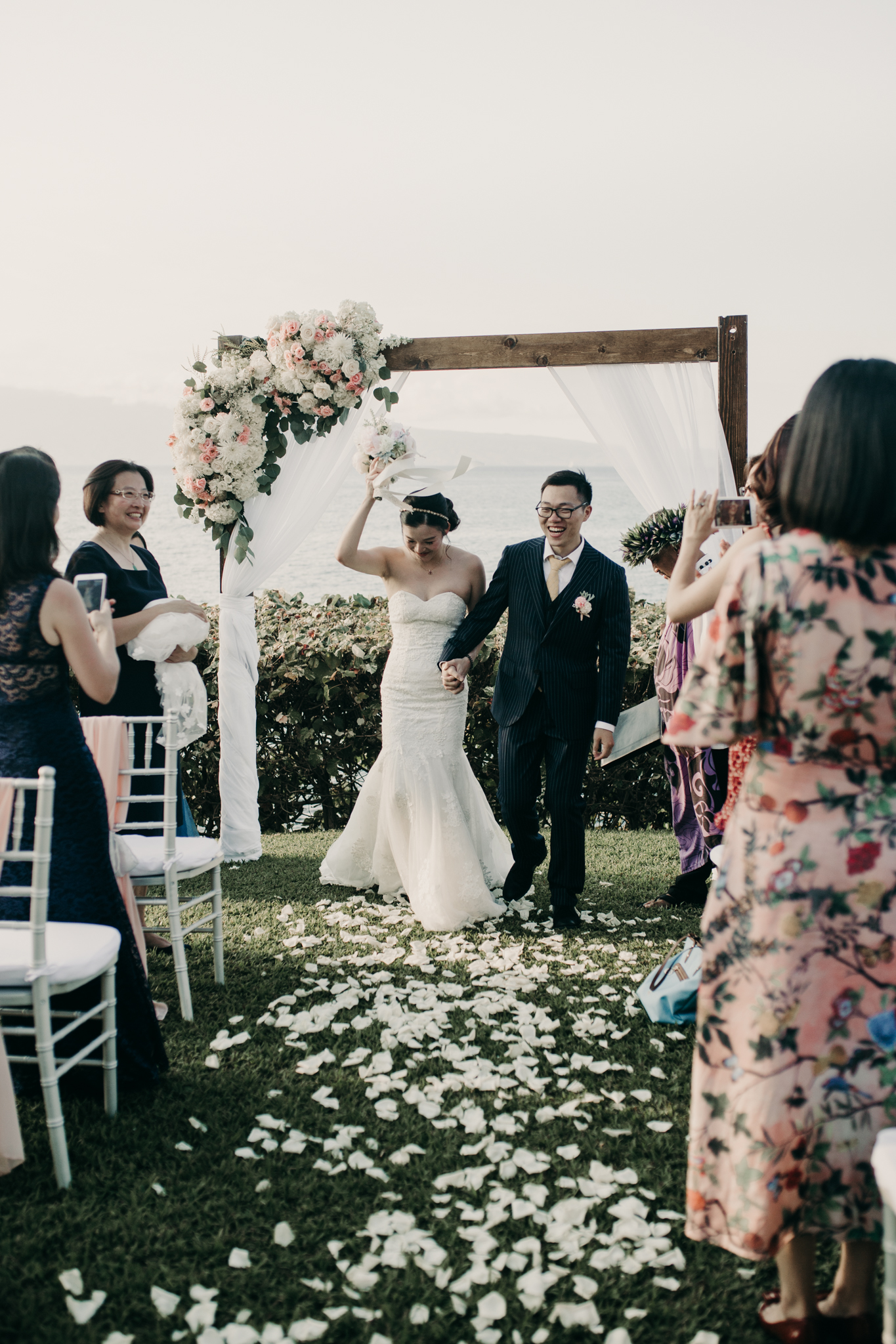 Merriman's Maui Kapalua Wedding Ceremony