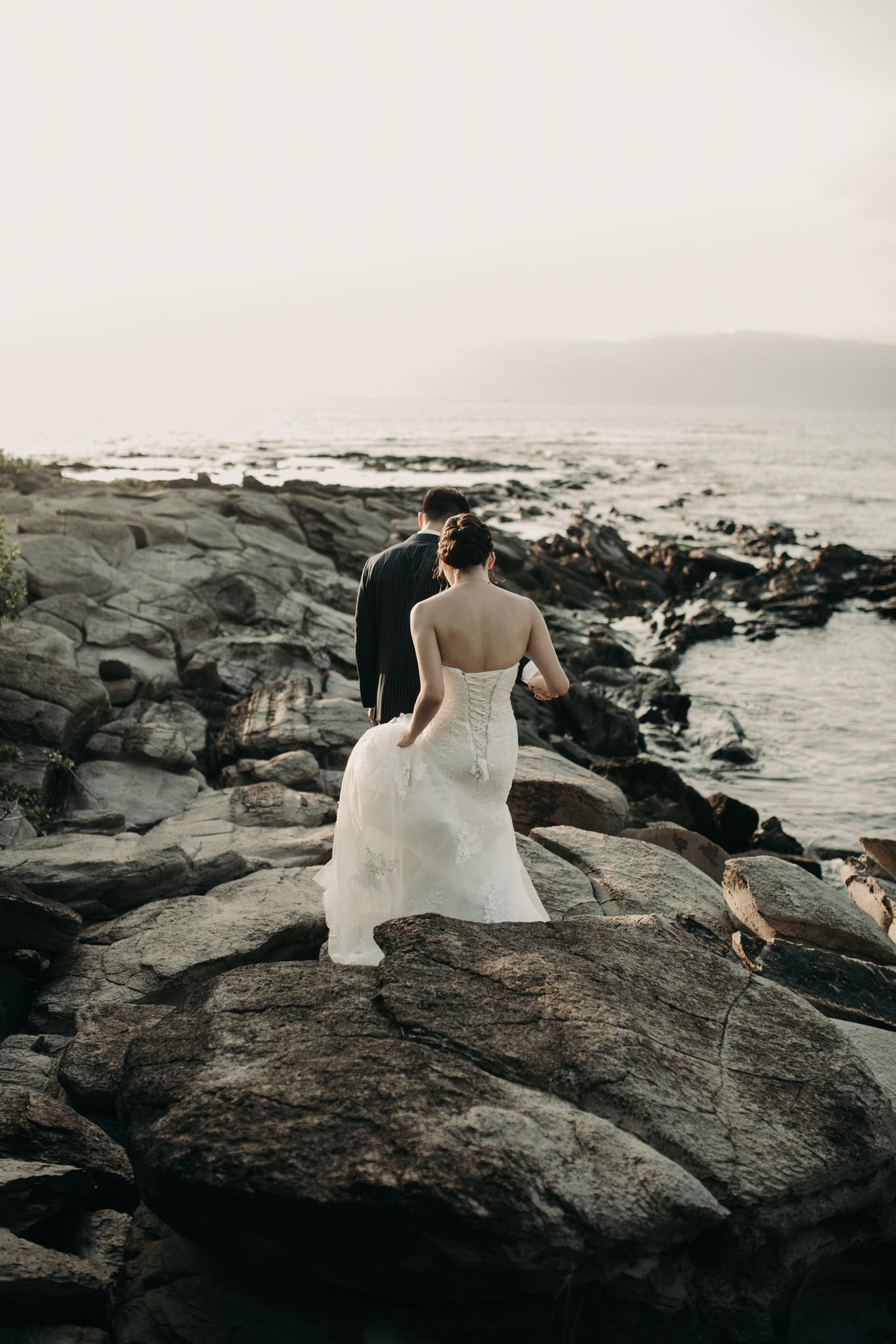 Merriman's Maui Kapalua Sunset Wedding