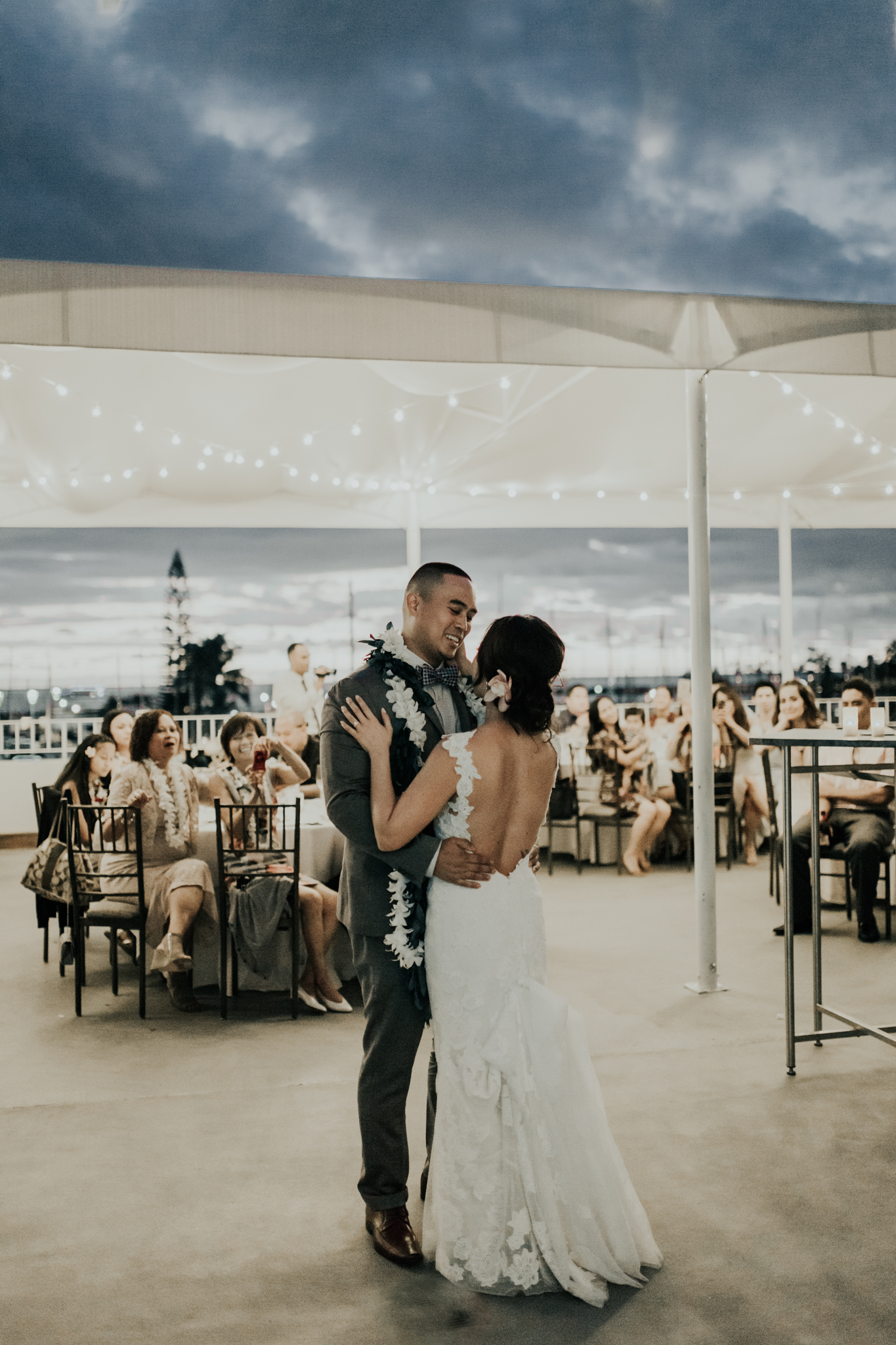 The Modern Honolulu Wedding Reception