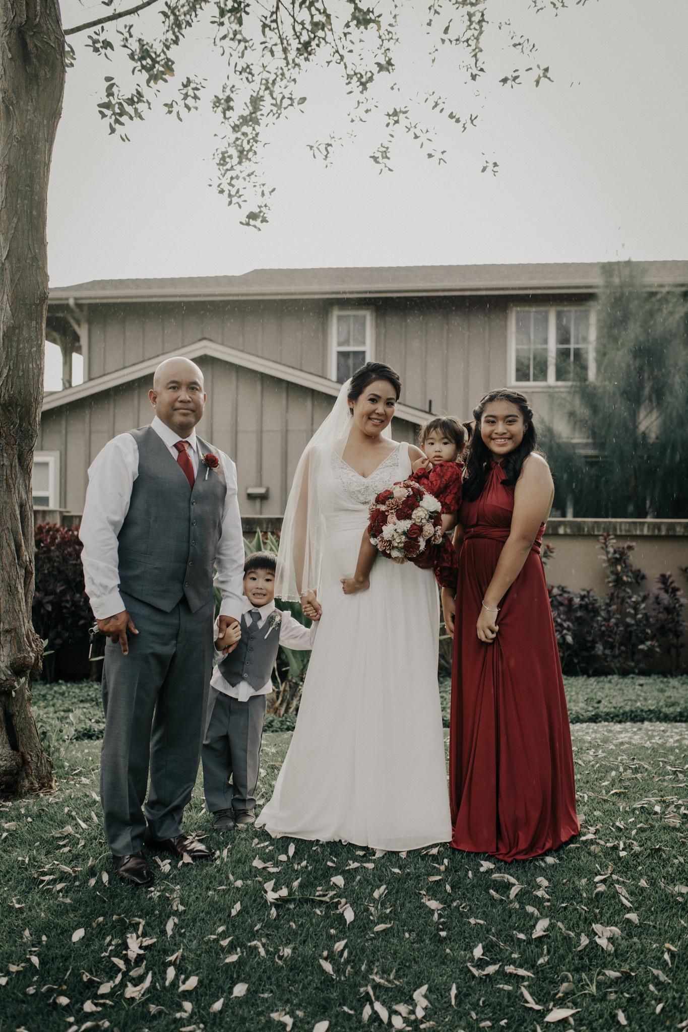 Backyard wedding Ewa Beach