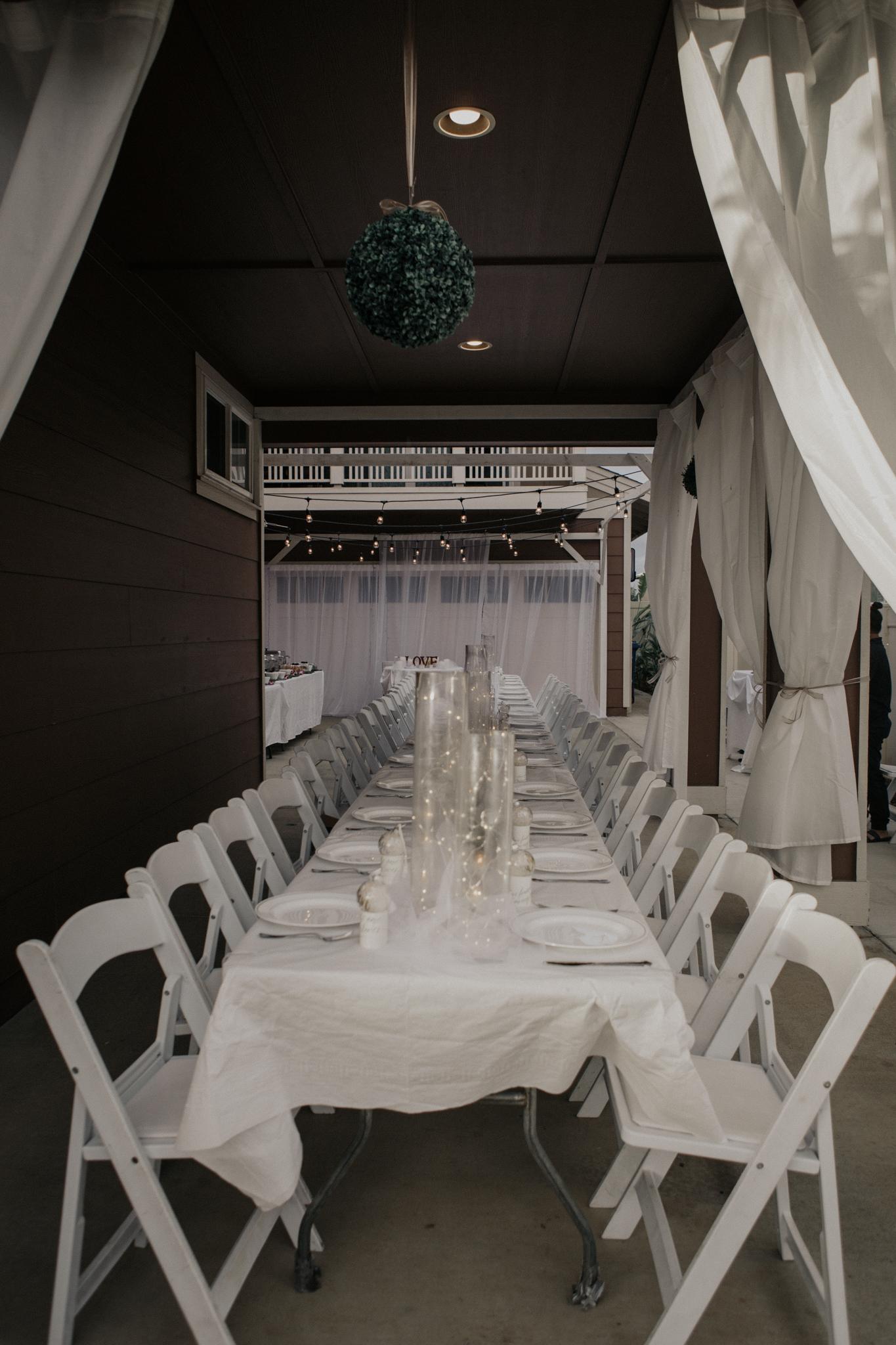 Garage wedding idea