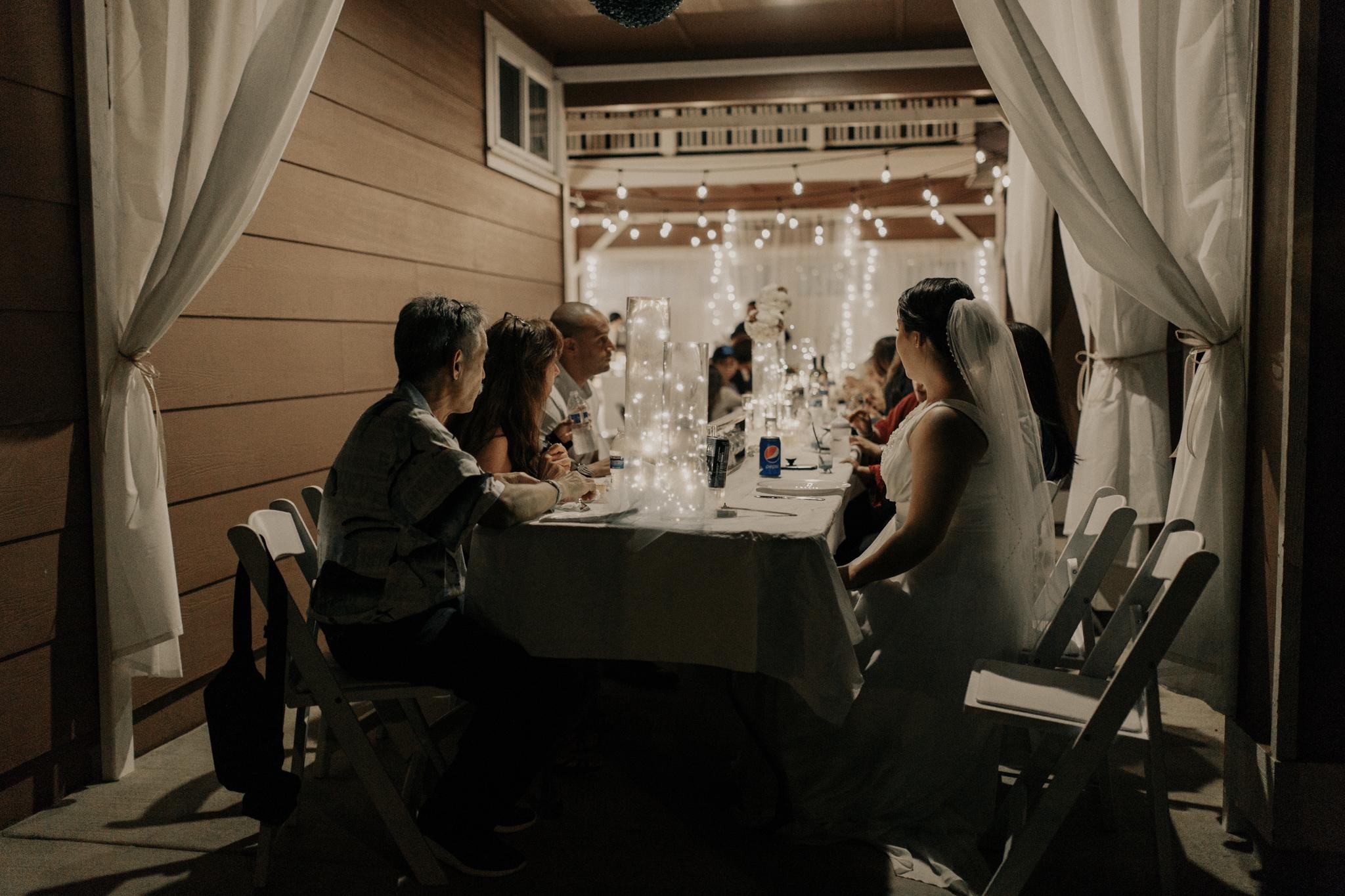 Backyard wedding idea