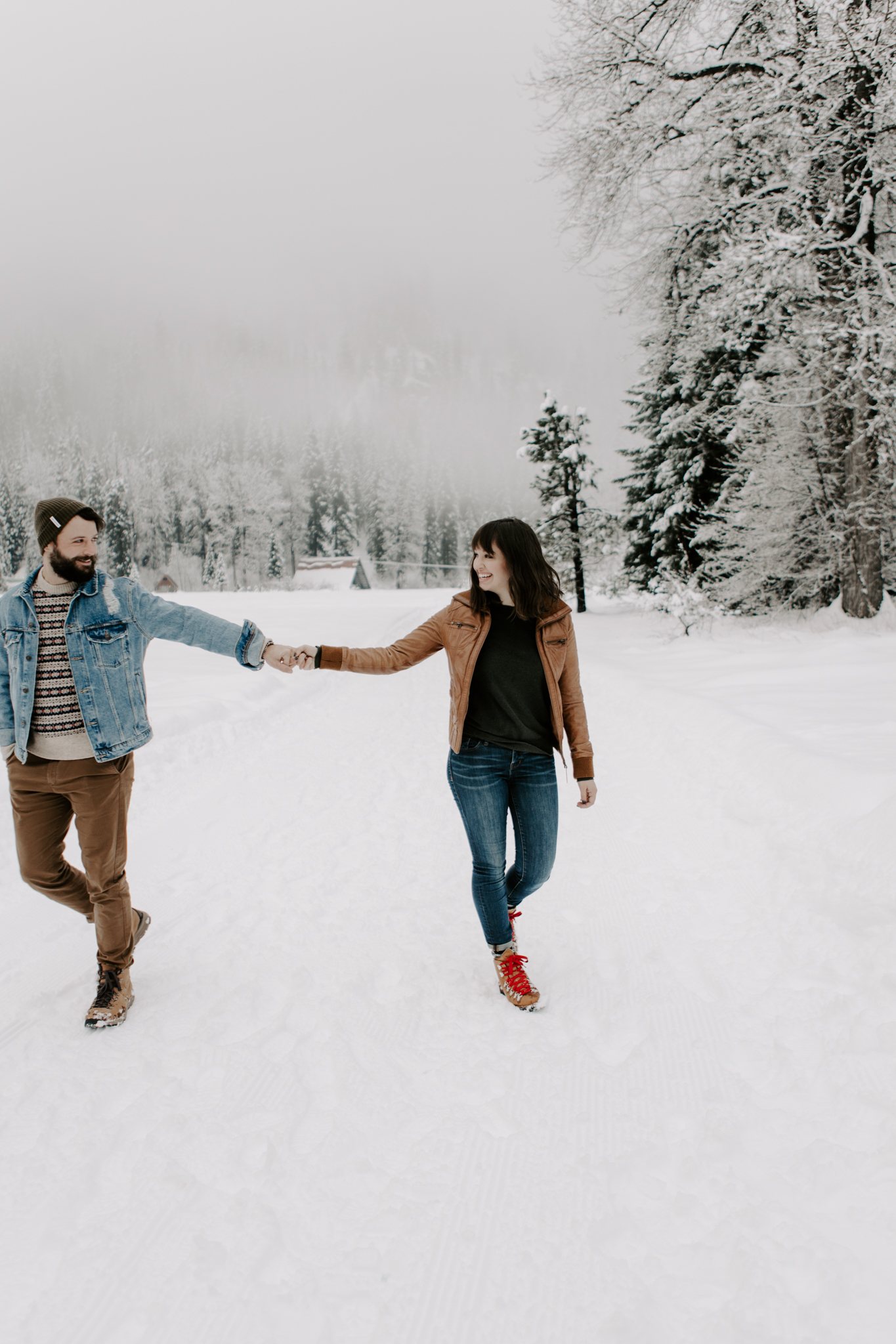 Couple in the North Cascades