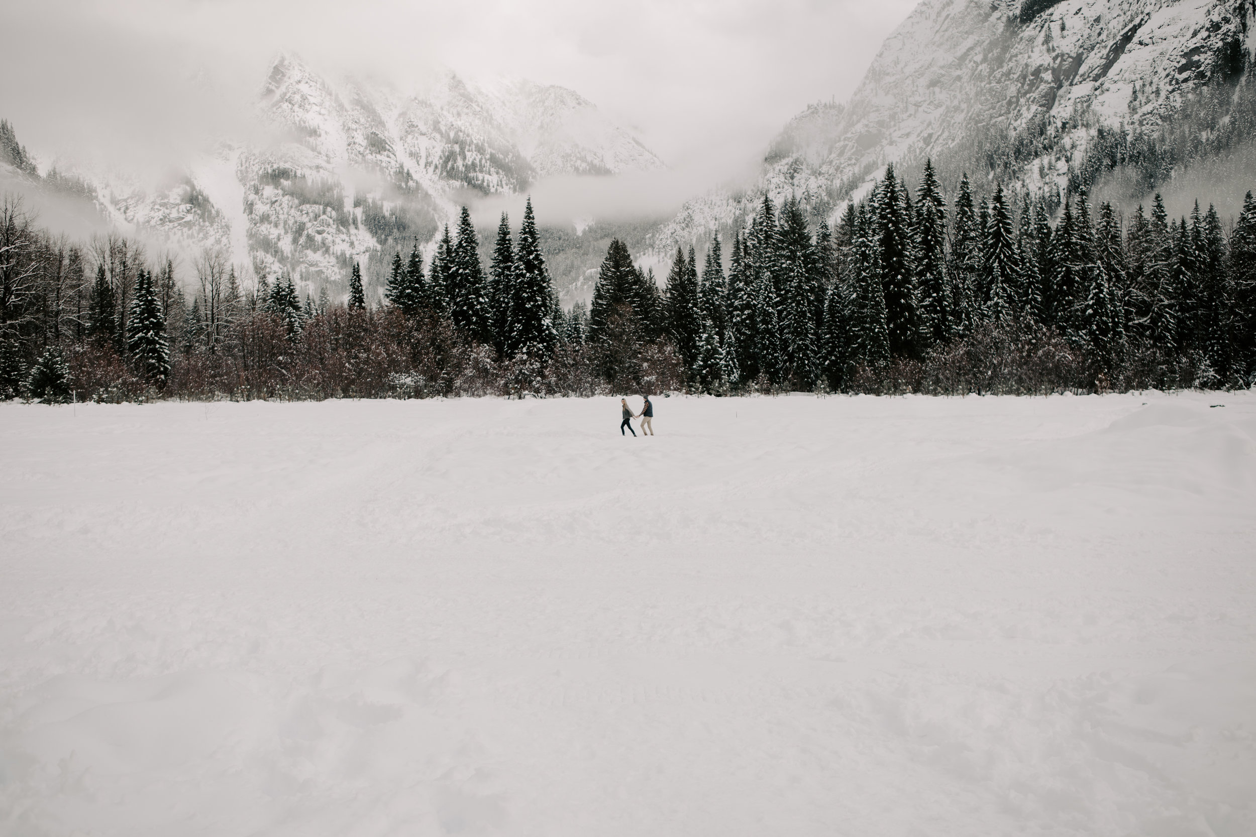 Gorgeous wedding in the North Cascades