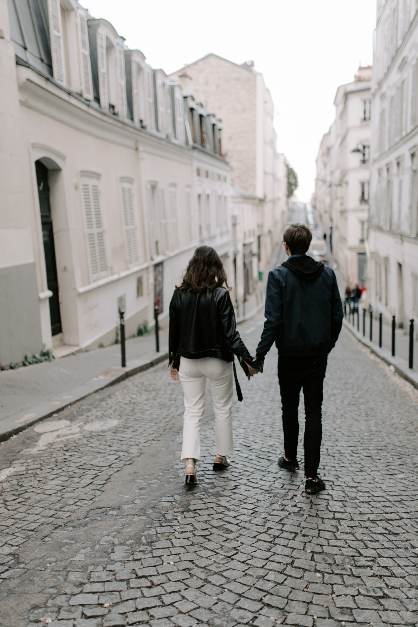 Montmartre Engagement Photos