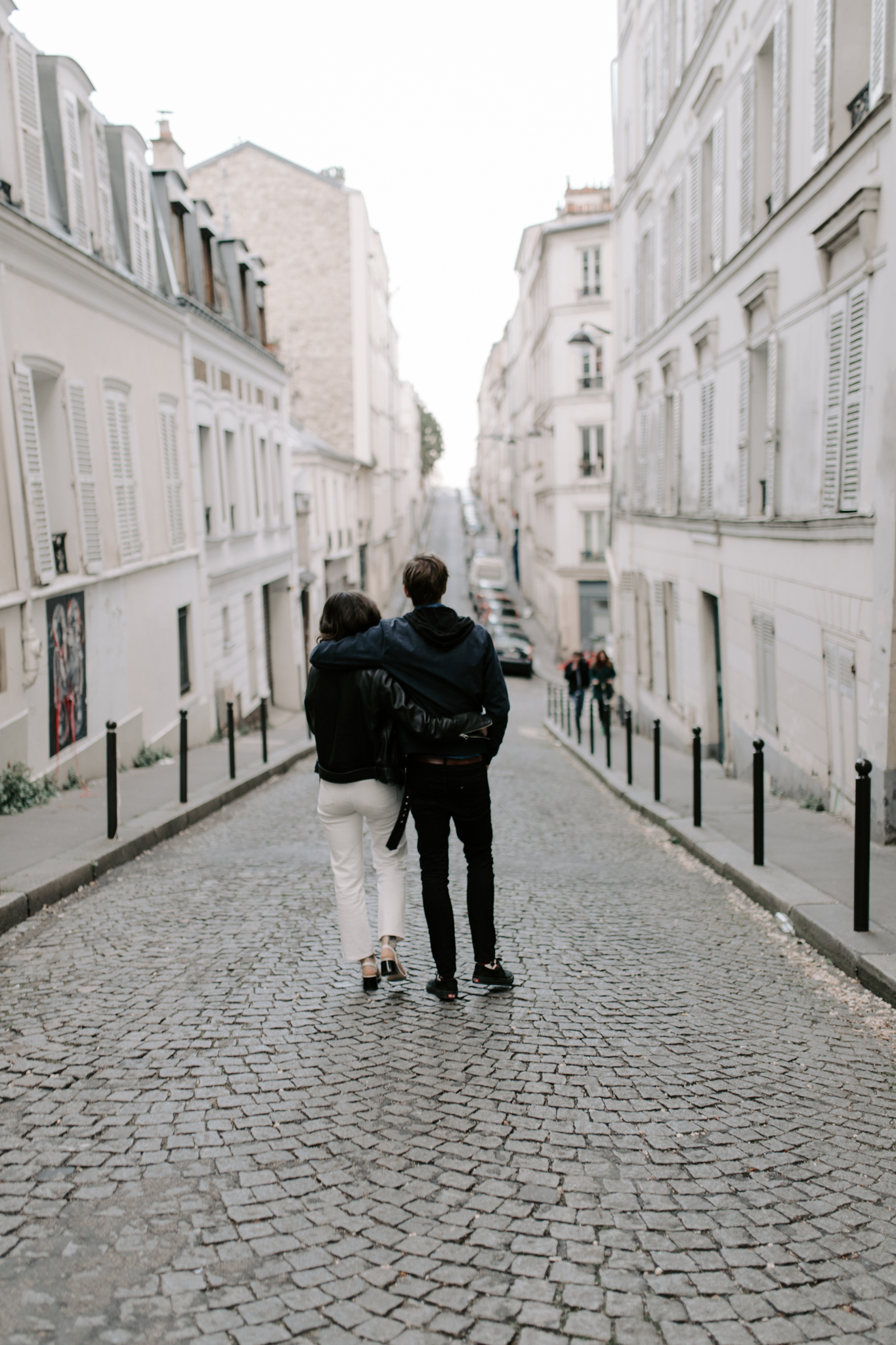 Montmartre Engagement Photographer