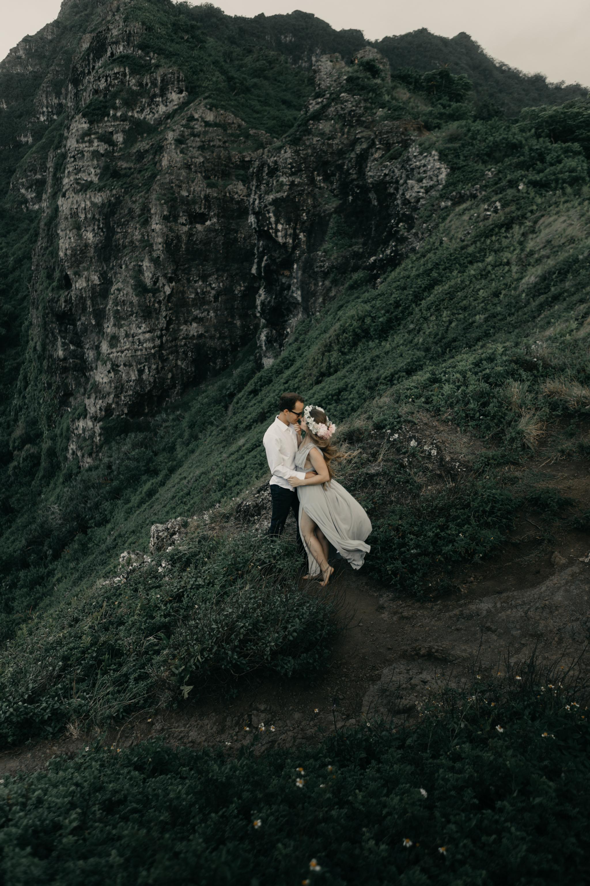 Crouching Lion Hike Wedding