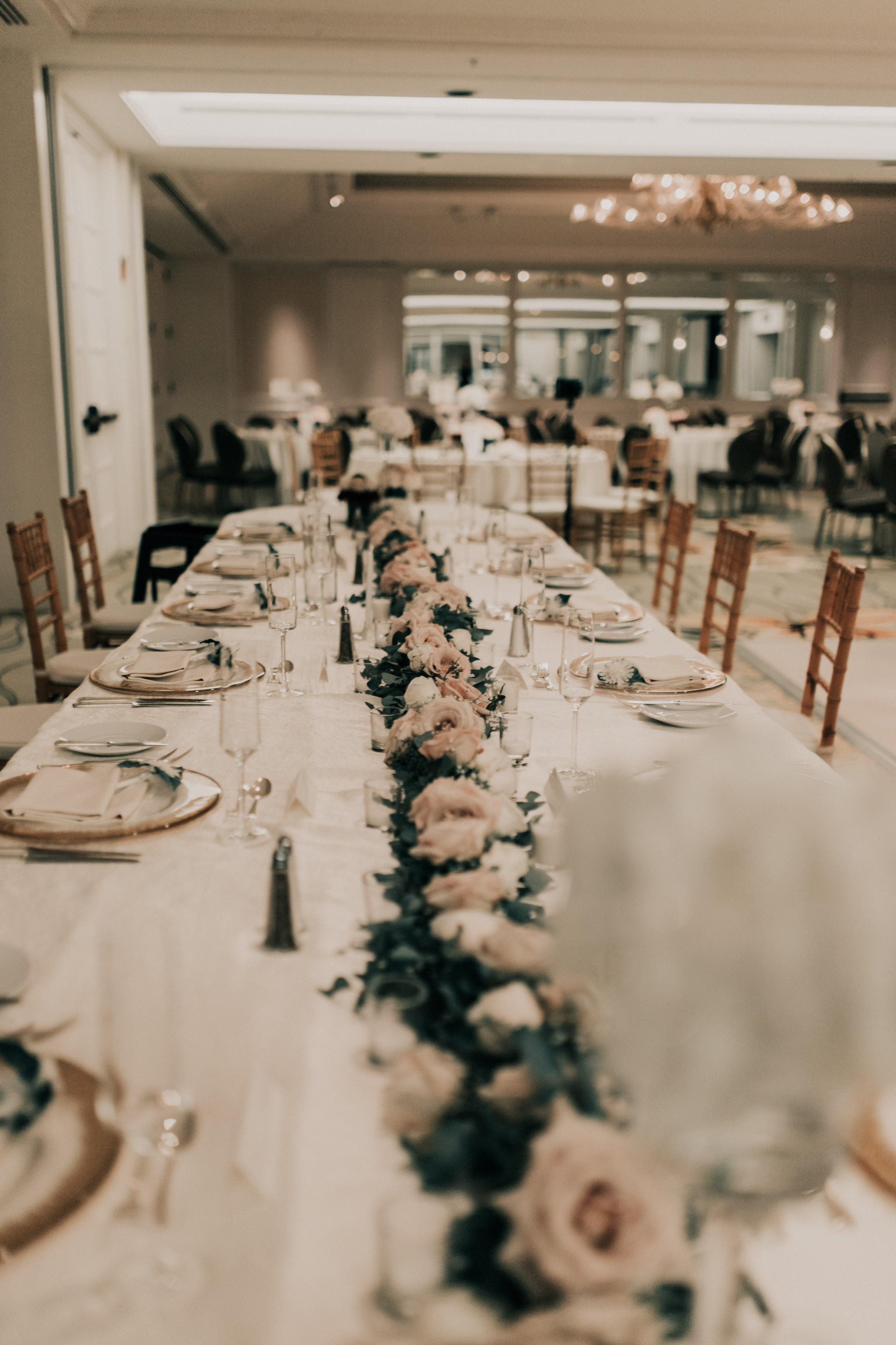 Kahala Hotel and Resort Wedding Reception