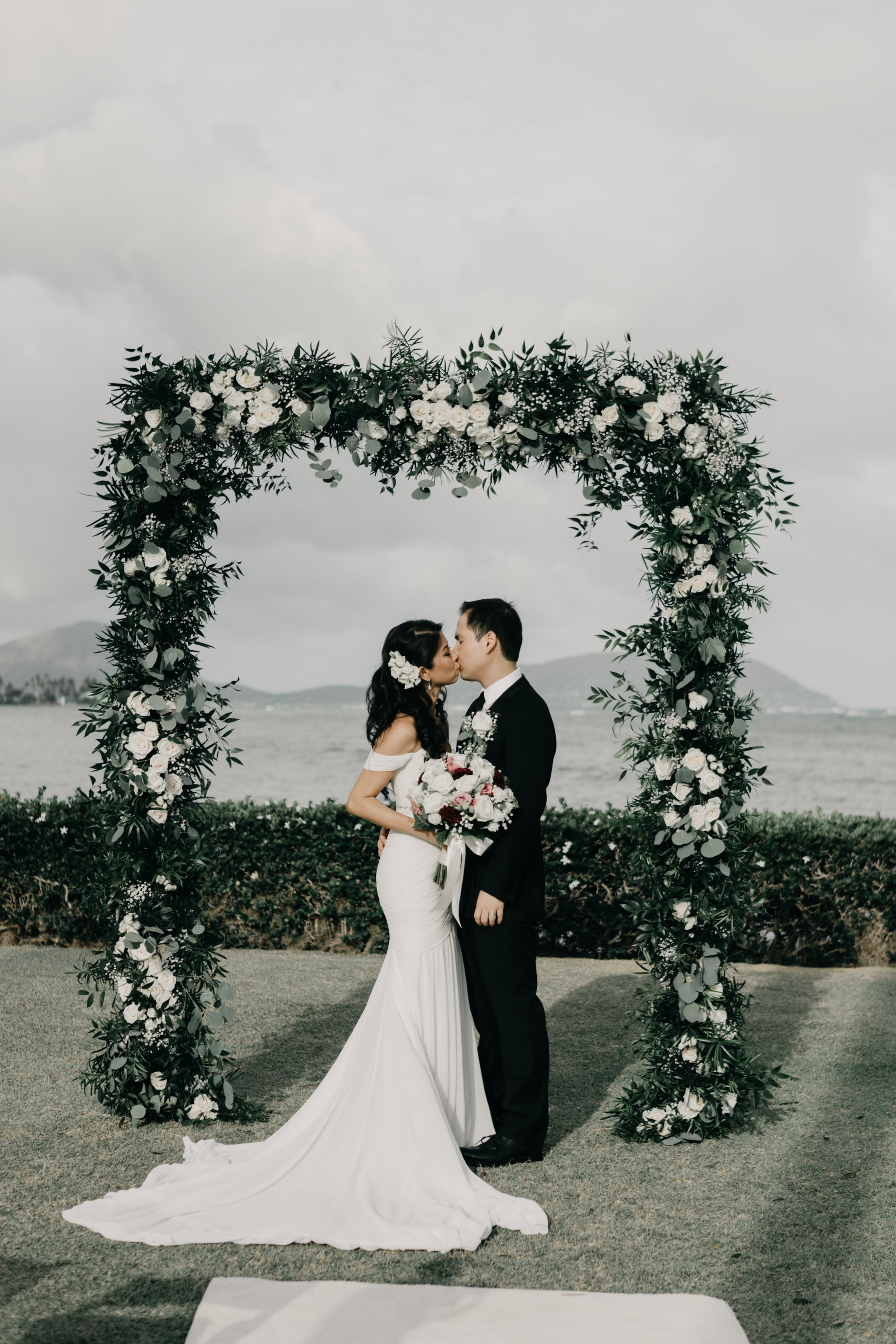 Kahala Hotel and Resort Oahu Wedding Photographer