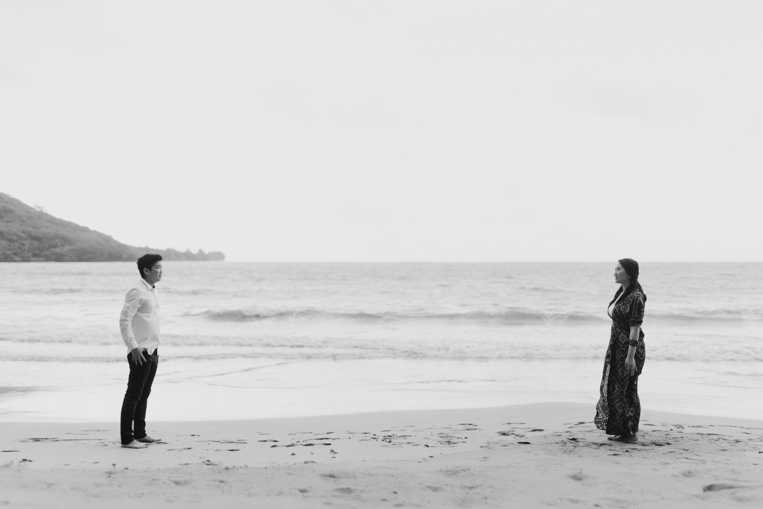 Kahana Bay Engagement Session by Desiree Leilani Hawaii Wedding Photographer