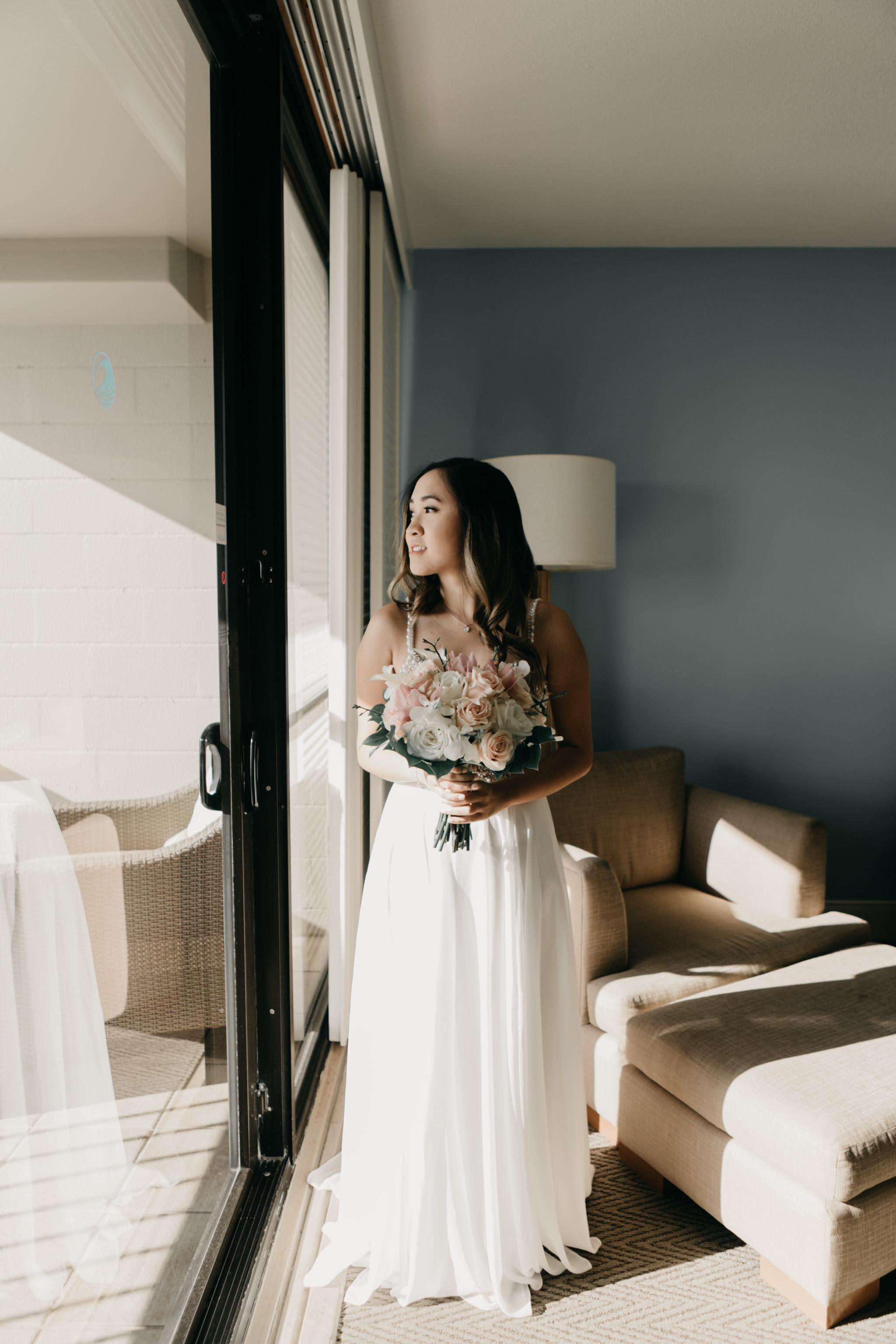 Turtle Bay Resort Elopement by Hawaii Fine Art Wedding Photographer Desiree Leilani