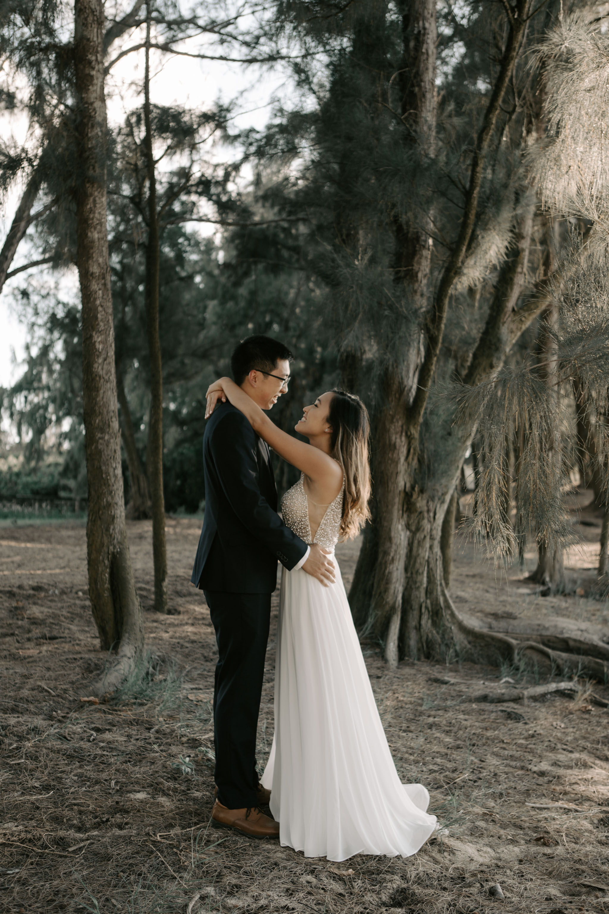The Stables at Turtle Bay Resort Wedding by Hawaii Fine Art Wedding Photographer Desiree Leilani