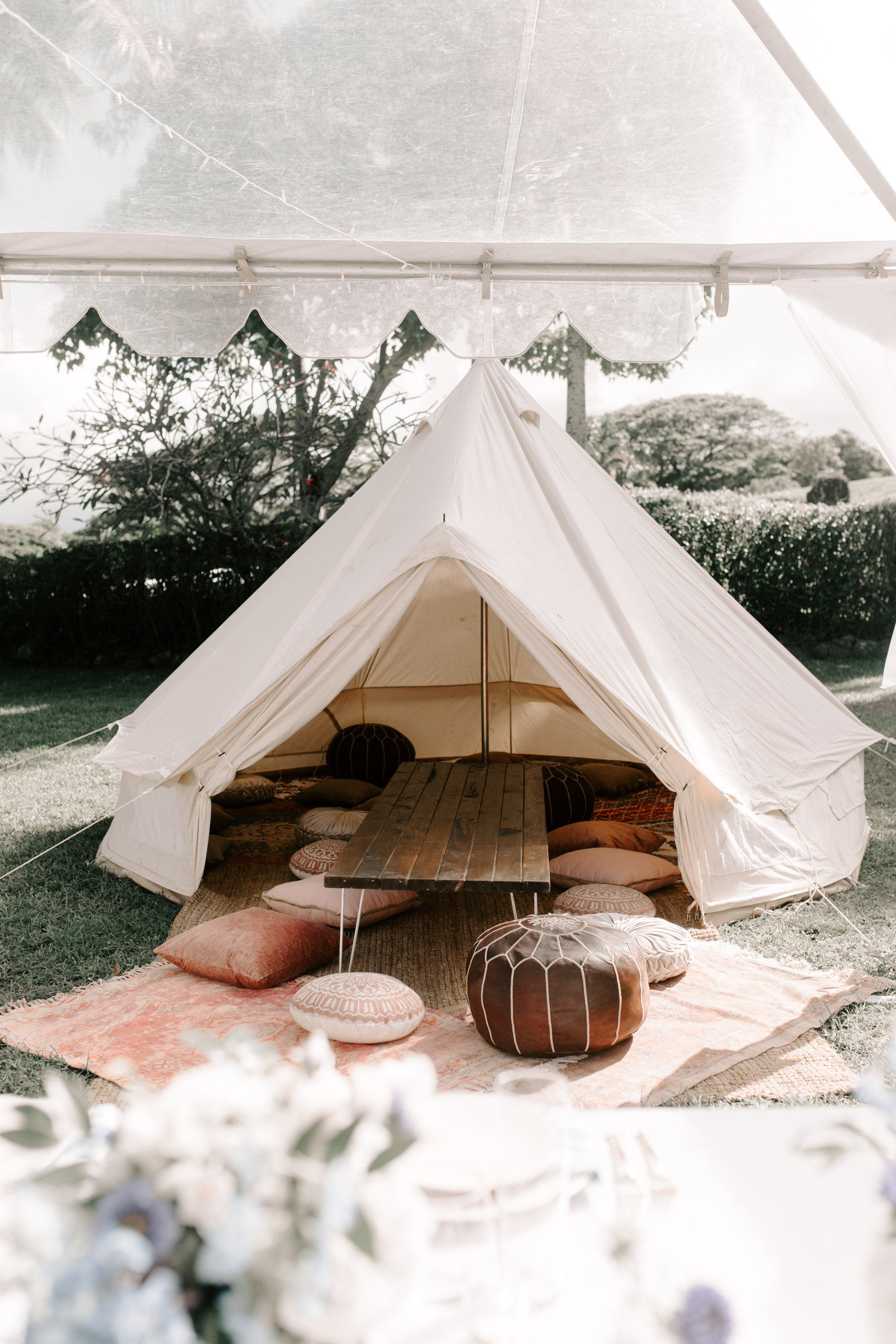 Aloha Artisans Teepee Rental Hawaii. Photography by Hawaii Wedding Photographer Desiree Leilani