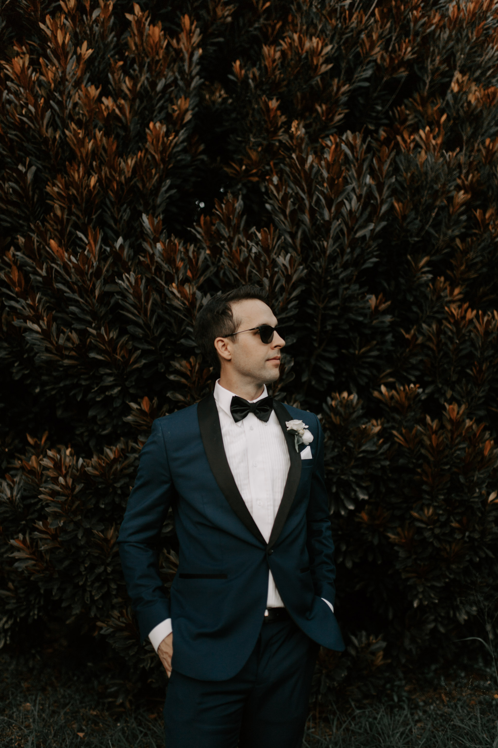 Groom Portrait Idea By Hawaii Wedding Photographer Desiree Leilani