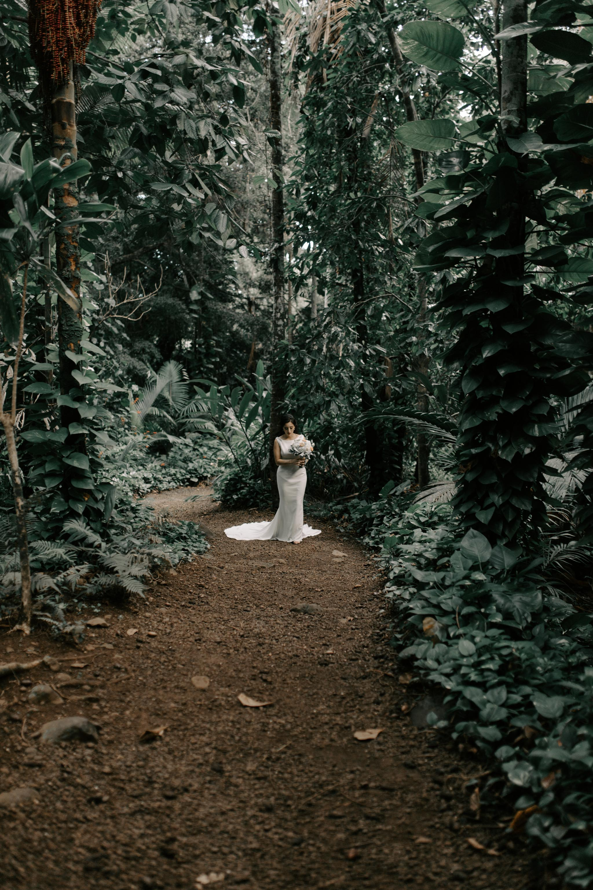 Gorgeous Waihulili Waterfall Wedding By Kauai Wedding Photographer Desiree Leilani