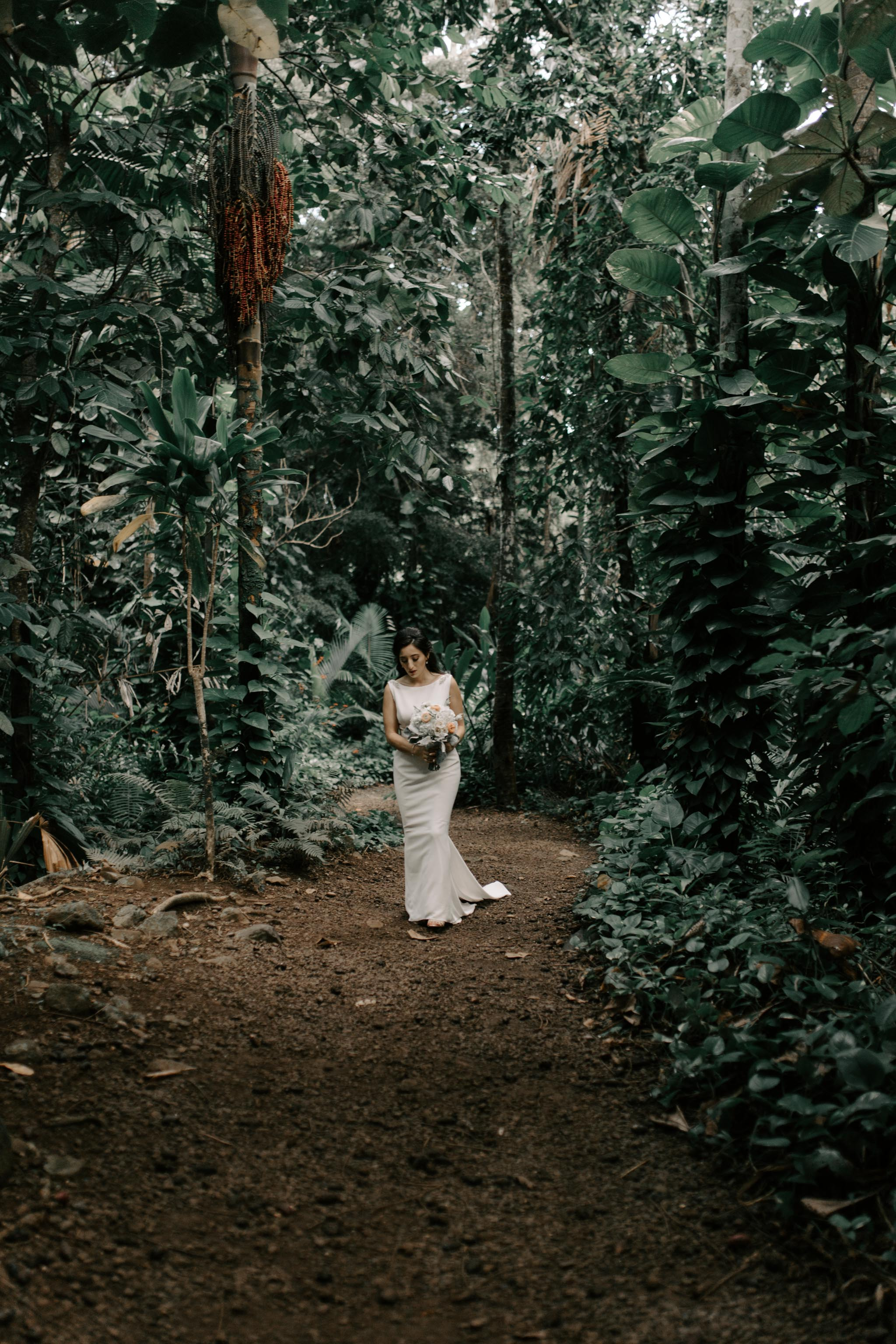 Waihulili Waterfall Wedding By Kauai Wedding Photographer Desiree Leilani