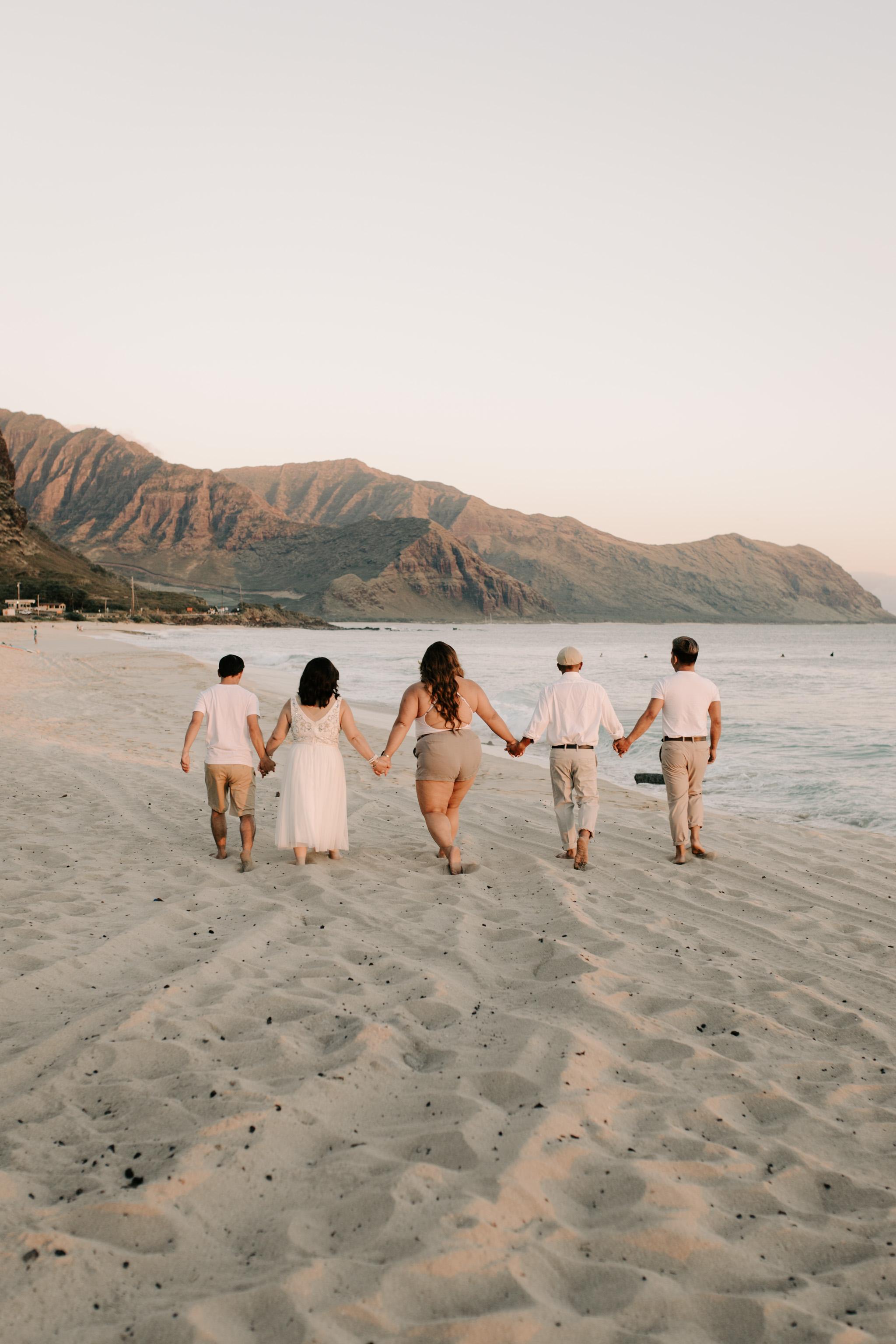 Patrick Starrr Hawaii Family Photos at Yokohama Bay by Hawaii family photographer Desiree Leilani
