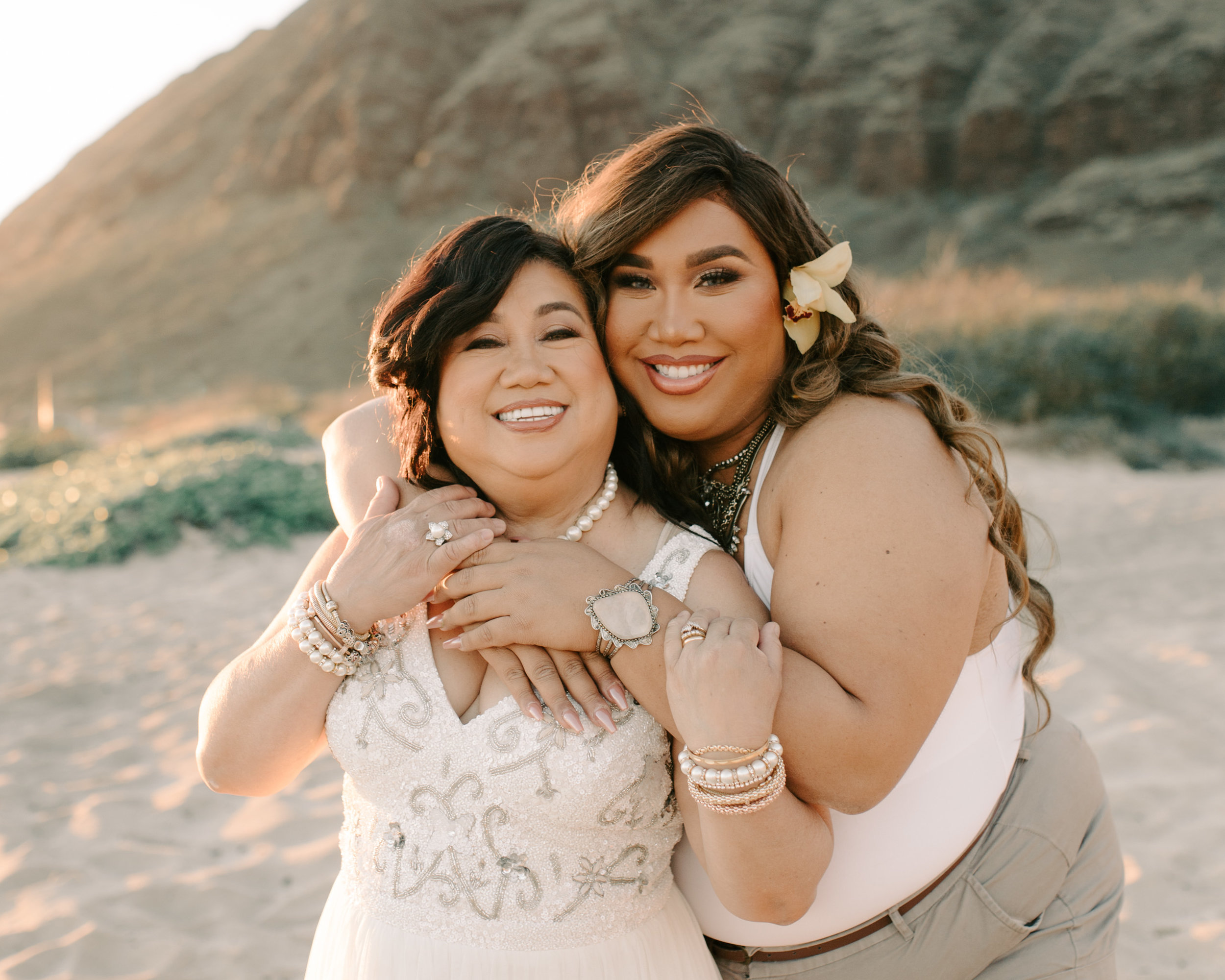 Patrick Starrr and Mama Starrr Family Photos in Hawaii by Oahu Family Photographer Desiree Leilani