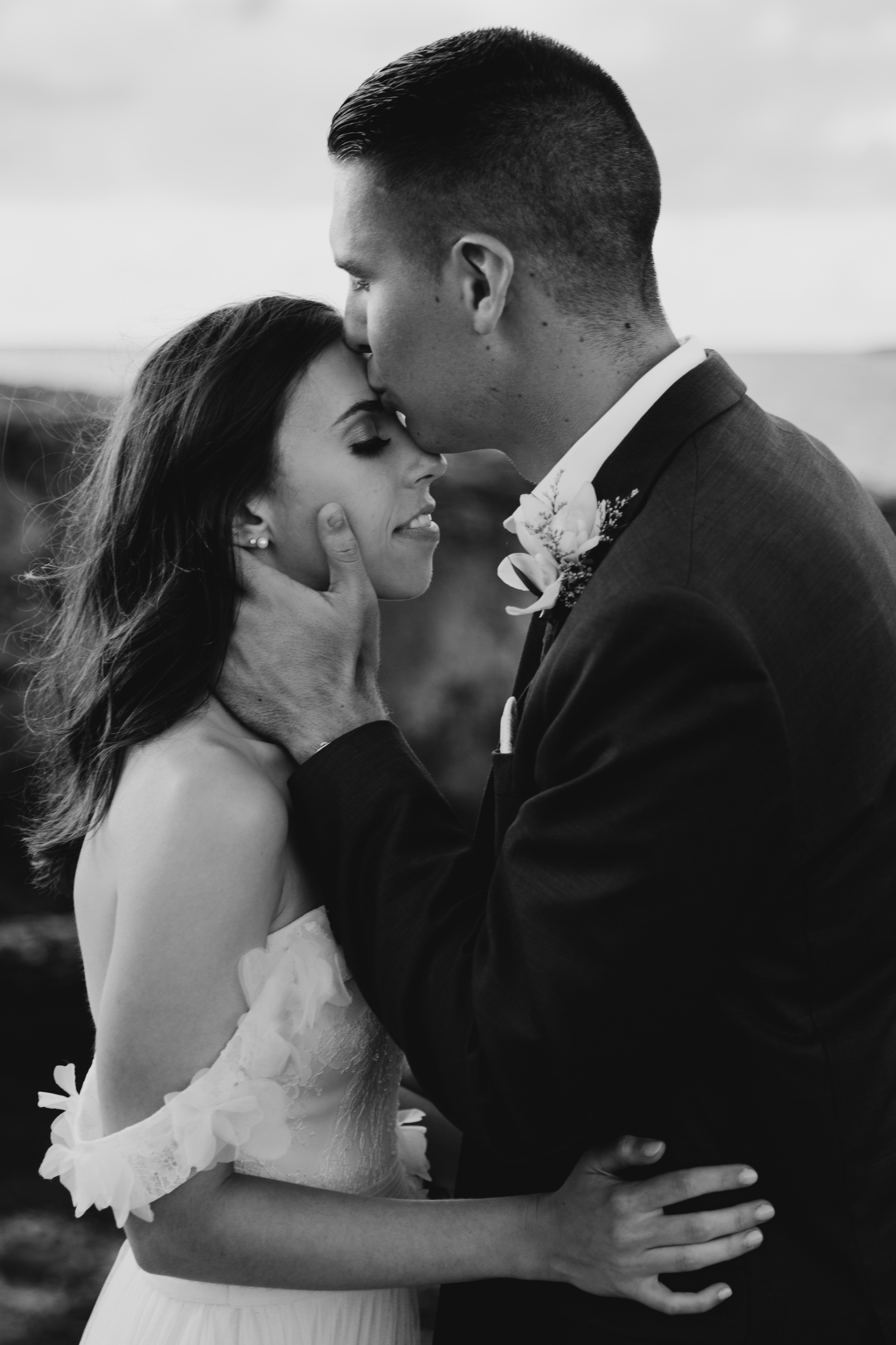 Laie Point Wedding By Oahu Fine Art Wedding Photographer Desiree Leilani