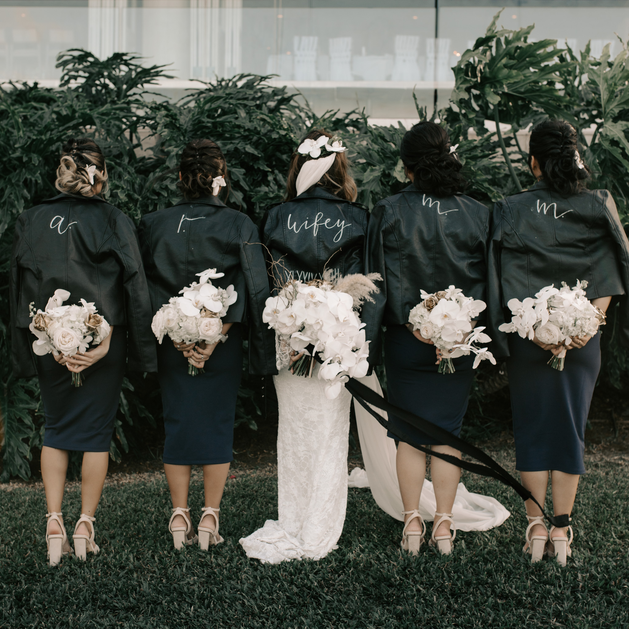 Bridal Party Leather Jacket Gifts