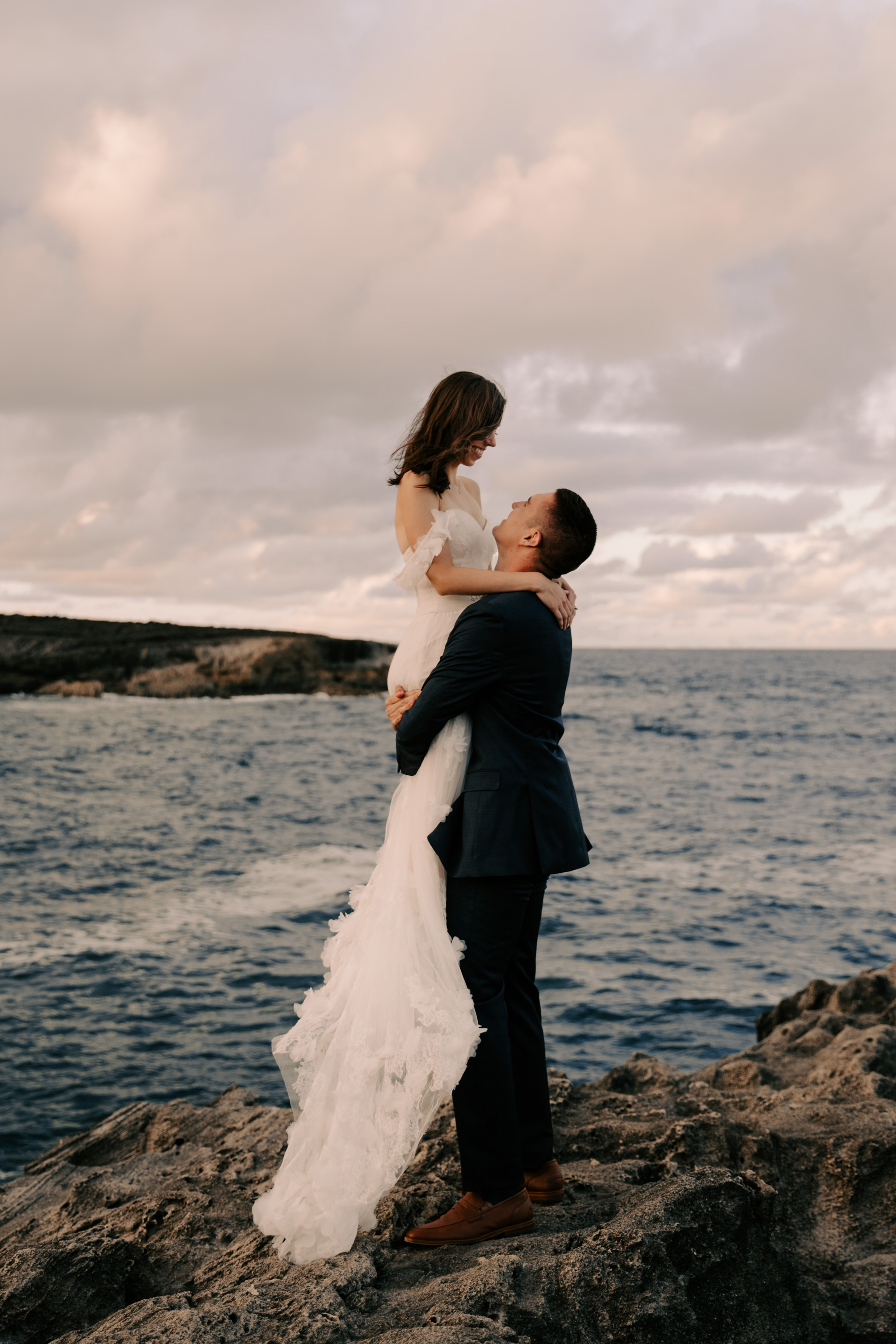 Gorgeous Laie Point Elopement By Oahu Elopement Photographer Desiree Leilani
