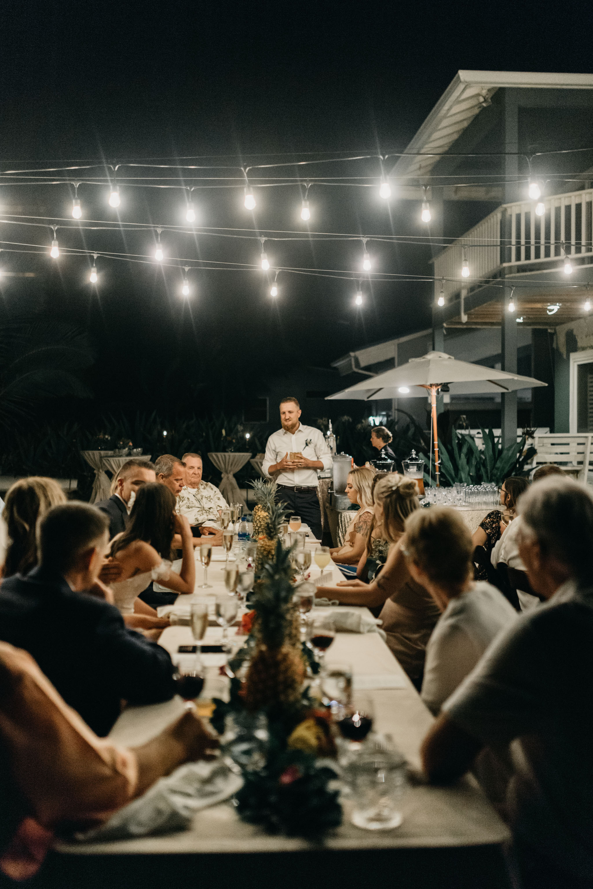 Best Man Speech- Laie Point Backyard Wedding By Hawaii Wedding Photographer Desiree Leilani