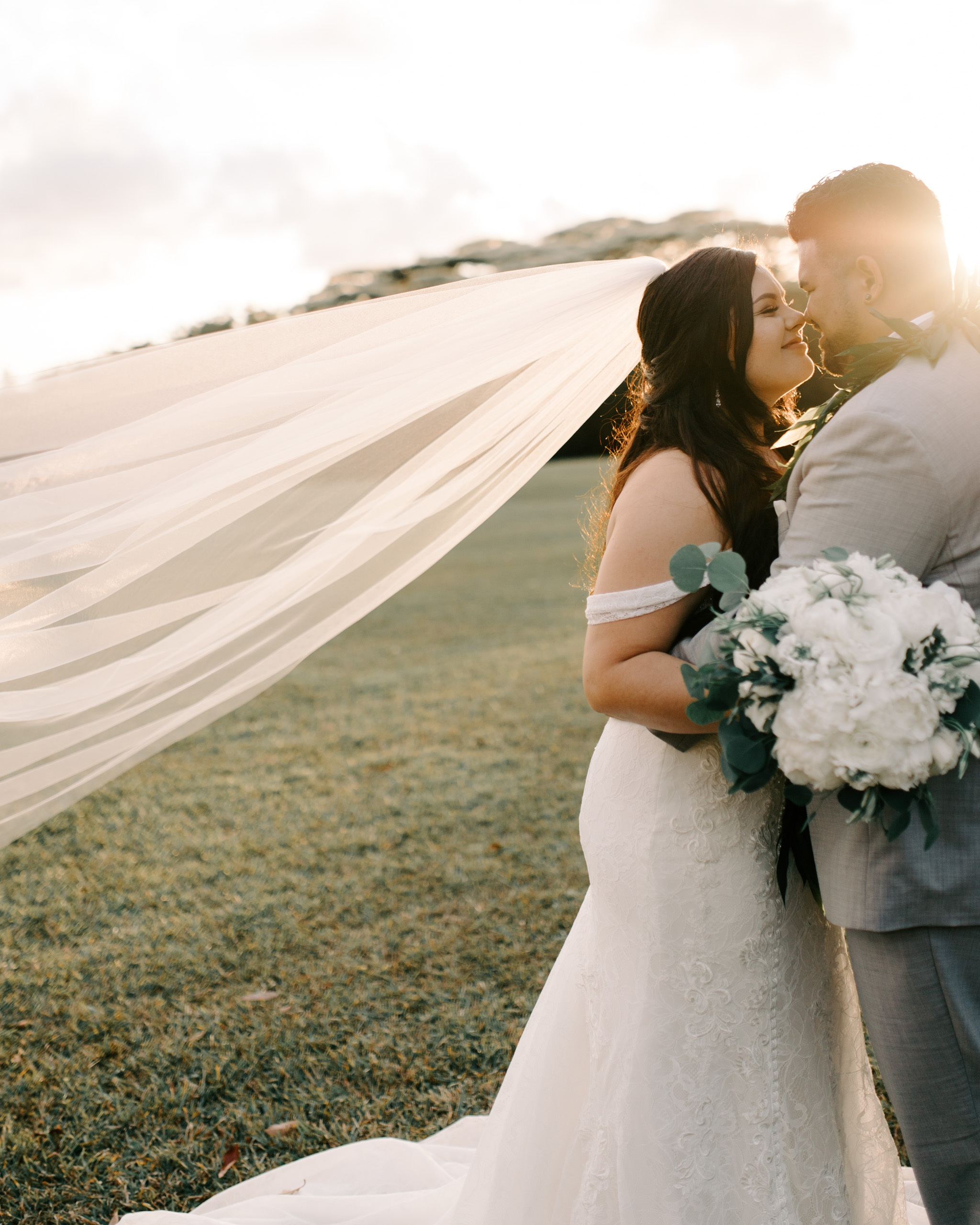 Sunset Ranch Hawaii Wedding By Oahu Wedding Photographer Desiree Leilani