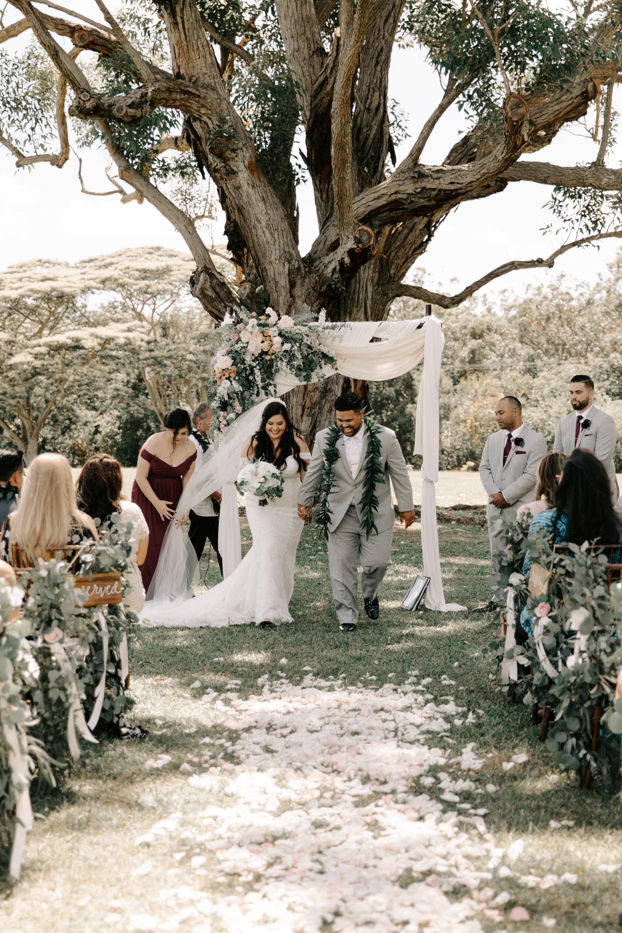 Sunset Ranch Hawaii Wedding By Oahu Wedding Photographer Desiree Leilani (