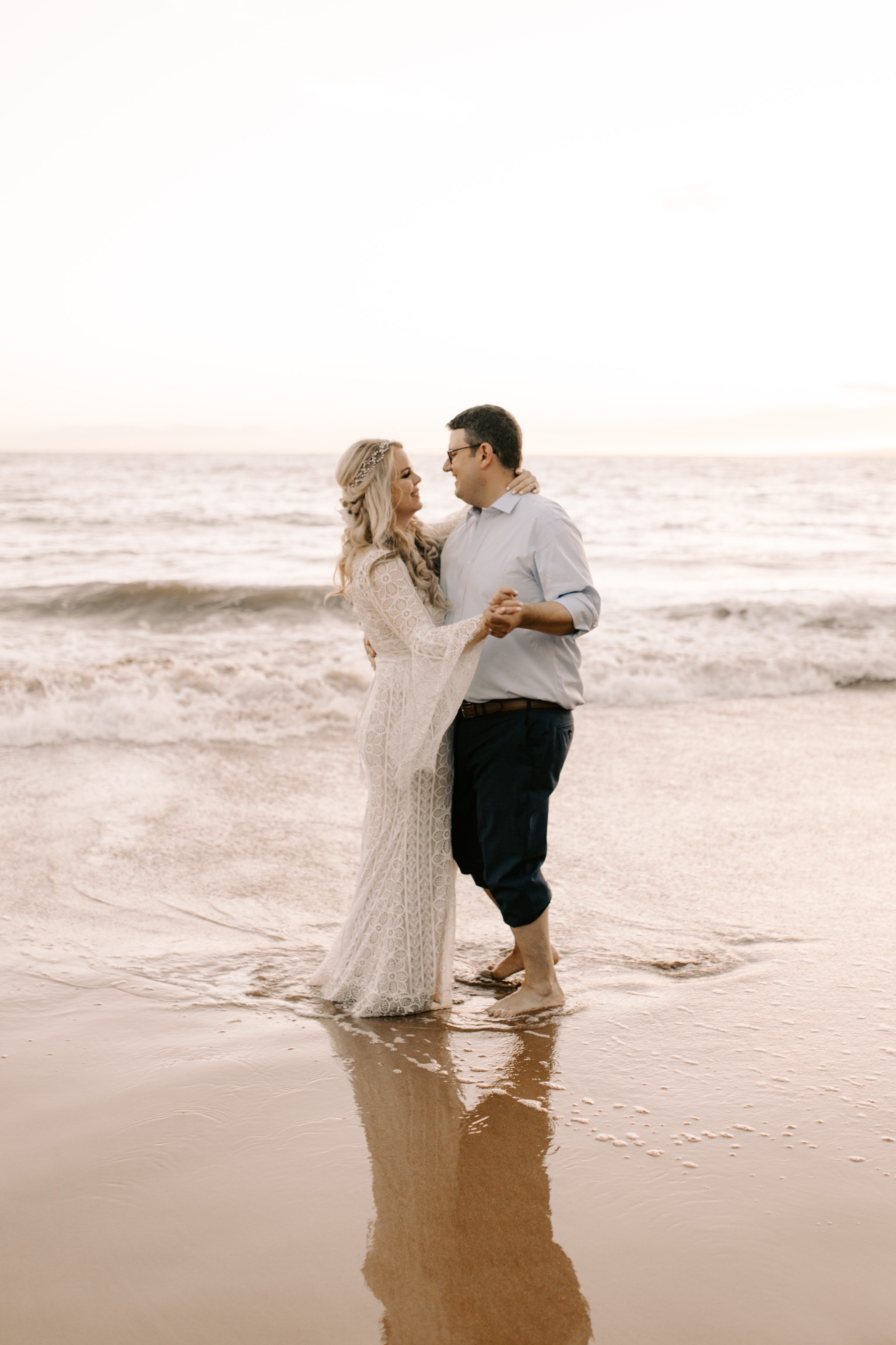 Andaz Maui and Puulenalena Beach Vow Renewal By Hawaii Wedding Photographer Desiree Leilani