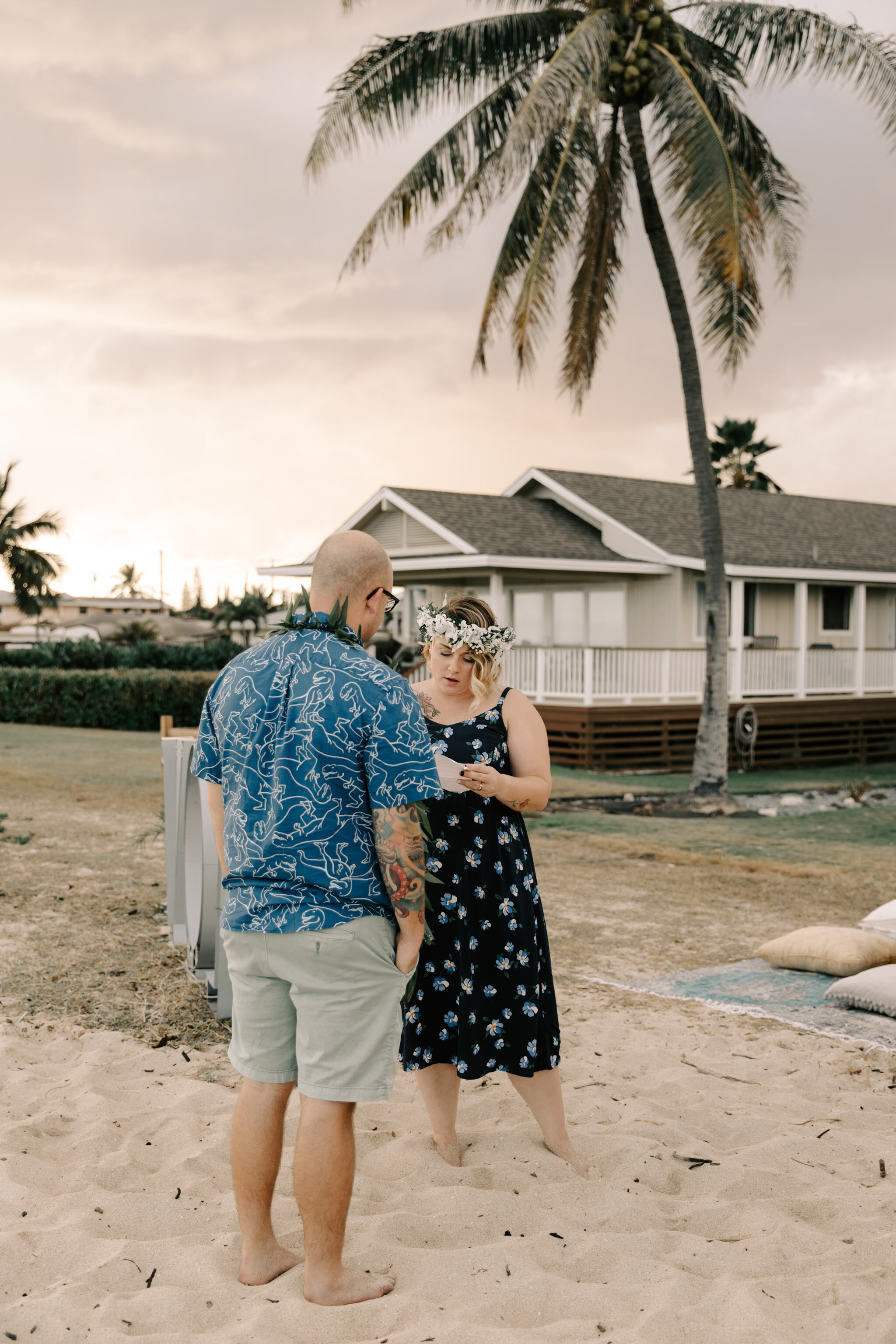 Aloha Picnics Puuloa Beach Park Hawaii Vow Renewal By Oahu Wedding Photographer Desiree Leilani