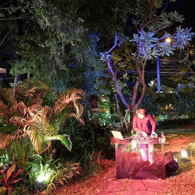 After party at SPIRIT Restaurant for the presentions of Jim Thompson's fall/winter 2018 collection . . . . . . . . #jtfw18 #fashion #fashionshow #dj #spiritjimthompson #spirit #restaurant #jimthompson #interiordesign #design #architecture #architect #bangkok #thailand #french #design #luxury  #landscape #garden #tropical #archilovers #architecturelovers #archdaily #architecturedaily #architectureporn #archiporn #architecturehunter #architecturegram #worldplaces #boiffils #boiffilsarchitectures