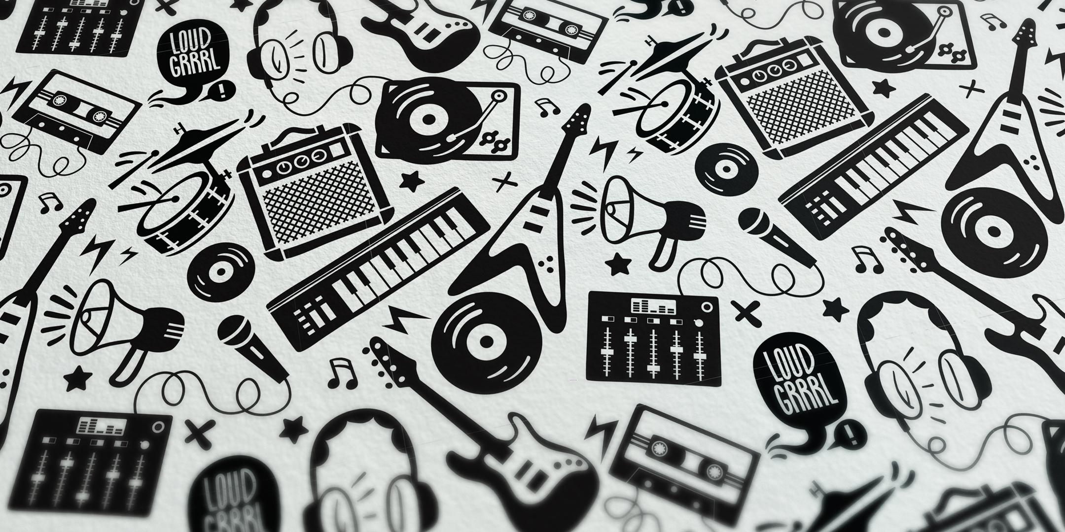Pattern design by Stina Norgren illustre.se